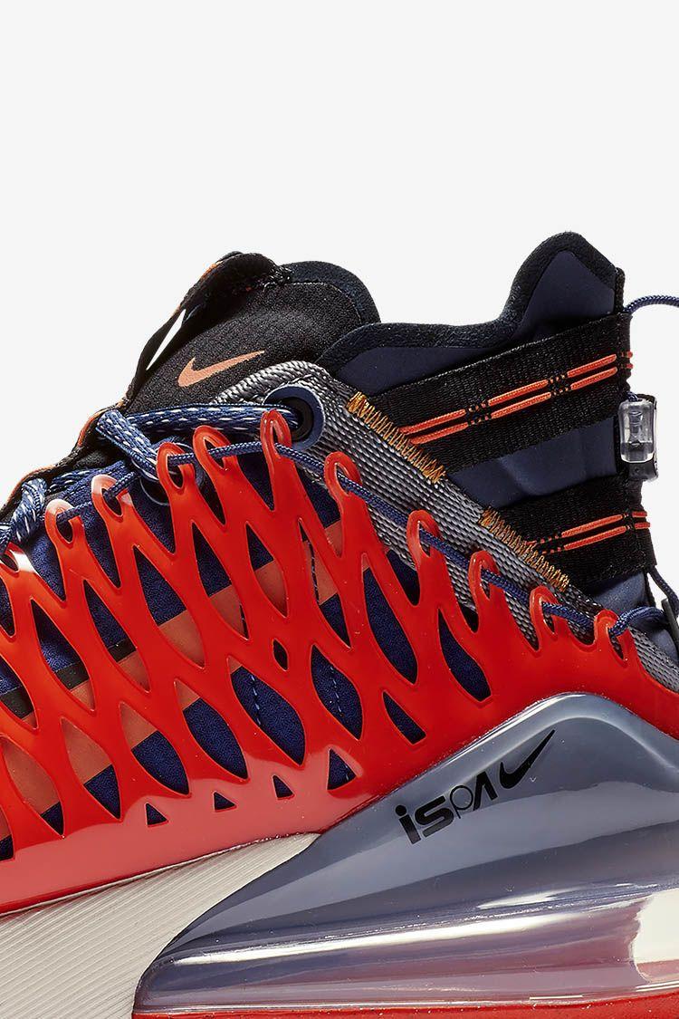 Nike Air Max 270 ISPA 'Blue Void & Terra Orange & Black' Release Date