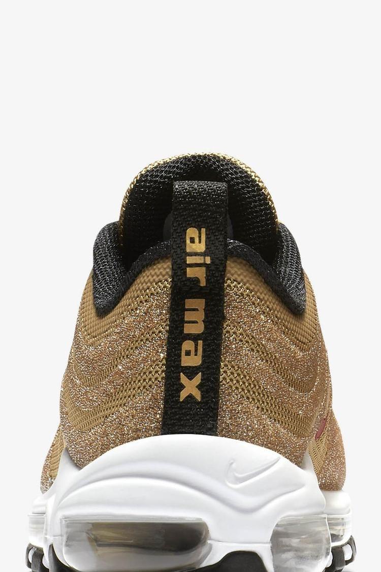 Women's Nike Air Max 97 'Gold Swarovski Crystal' Release Date