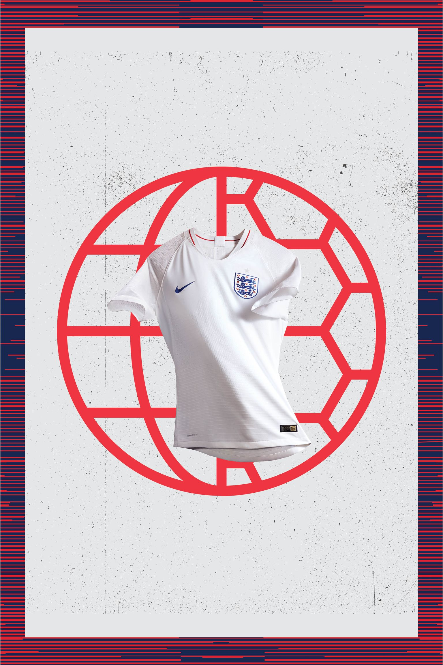 2018 England Stadium Home Kit