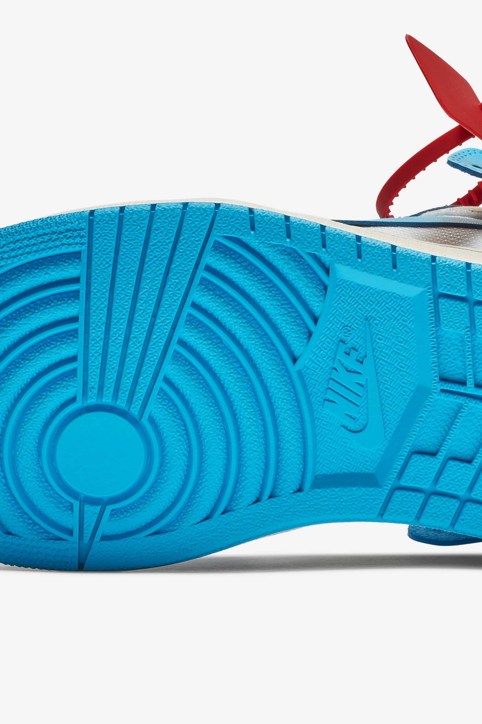 The Ten: Air Jordan 1 Off White 'Powder Blue' Release Date