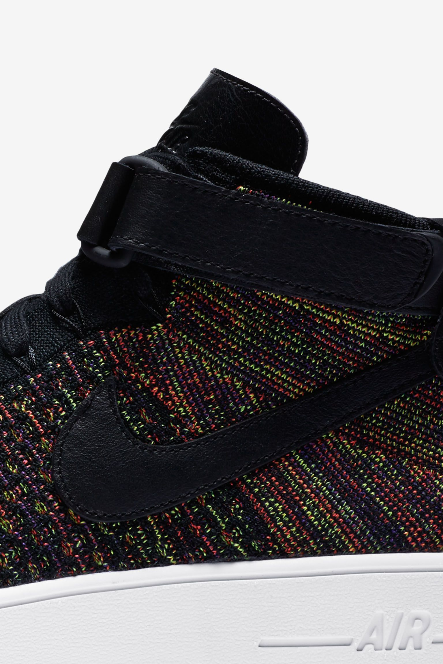 Nike Air Force 1 Ultra Flyknit Mid 'Multicolor 2.0' Release Date