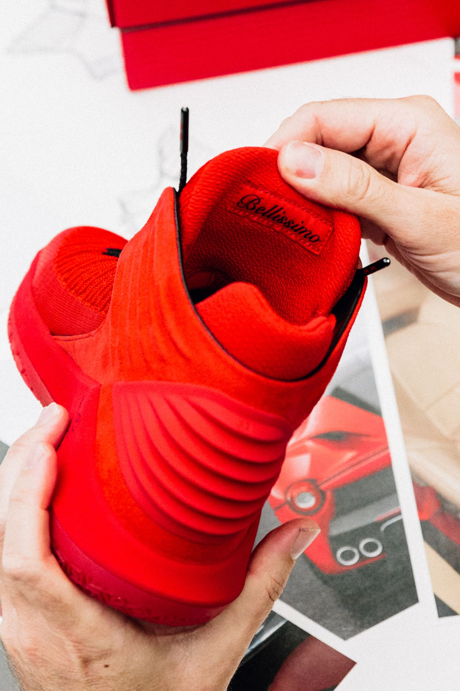 Behind the Design: Air Jordan 32 Rosso Corsa
