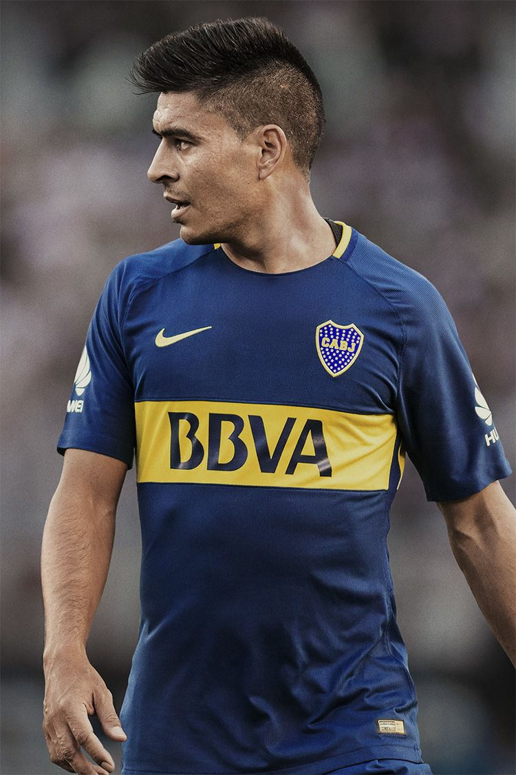Boca Juniors 2017/18 Home Kit