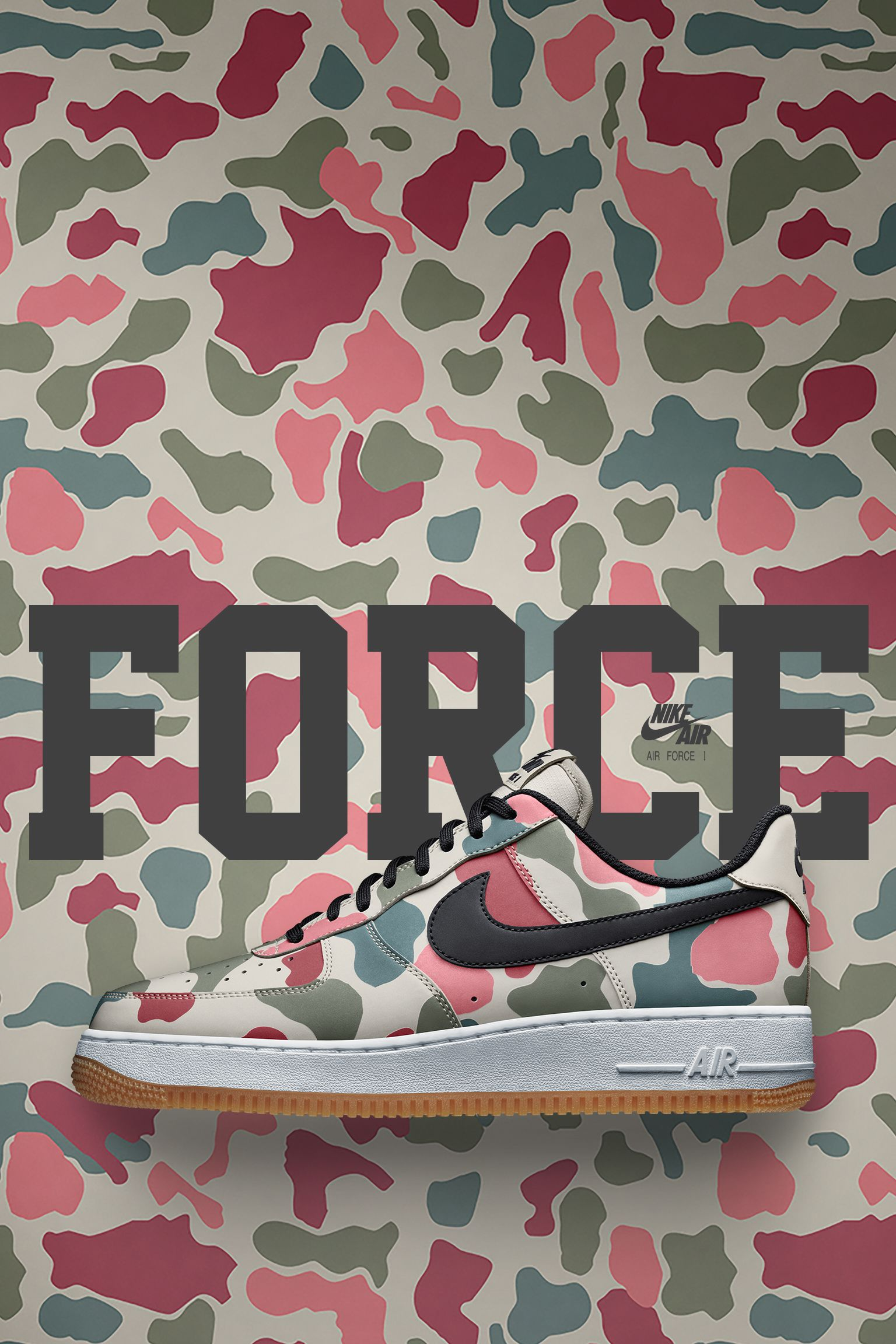 Nike Air Force 1 Low 07 'Duck Camo' Release Date