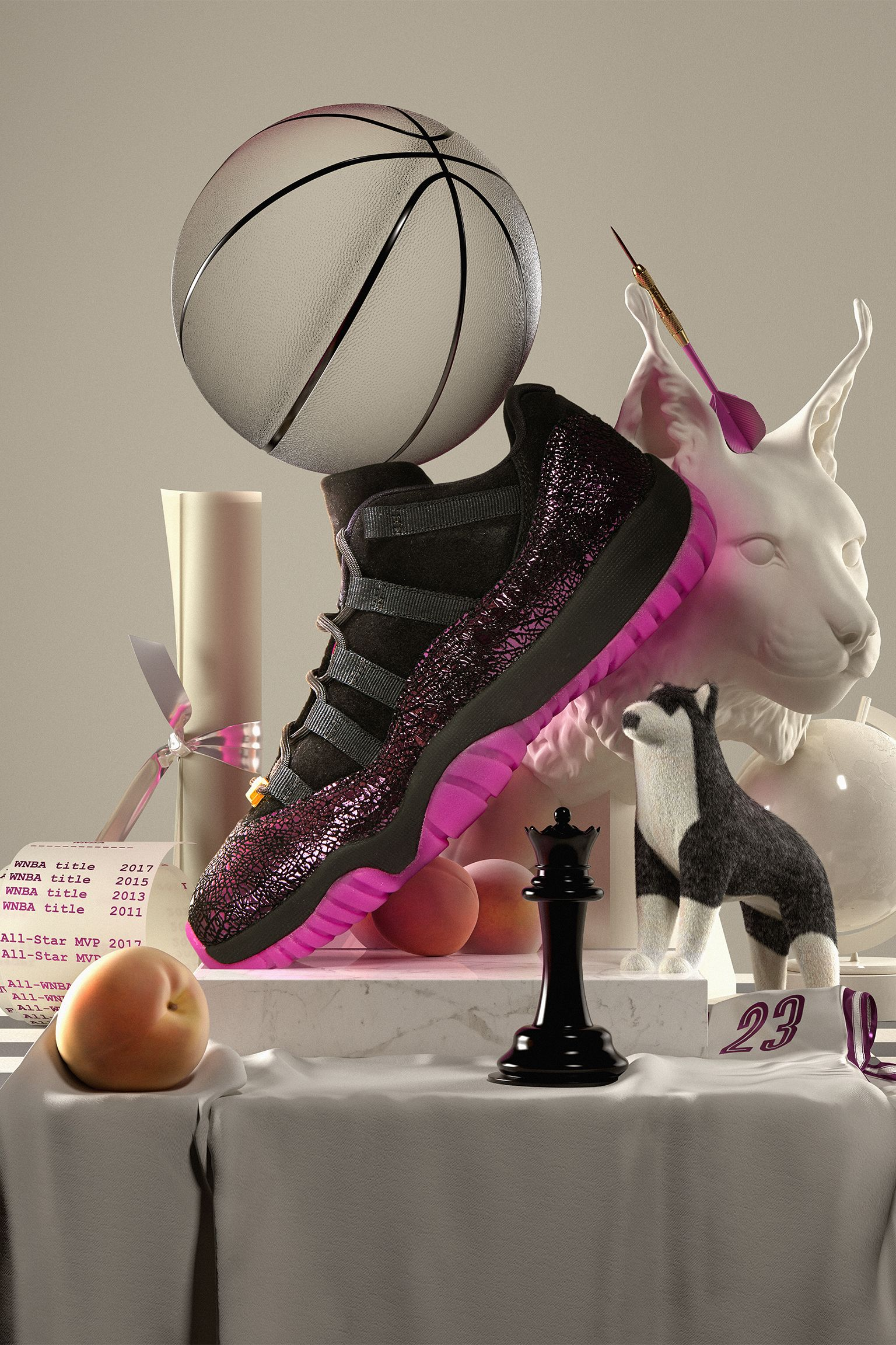 Women's Air Jordan 11 Low Maya Moore 'Art of a Champion' Release Date.