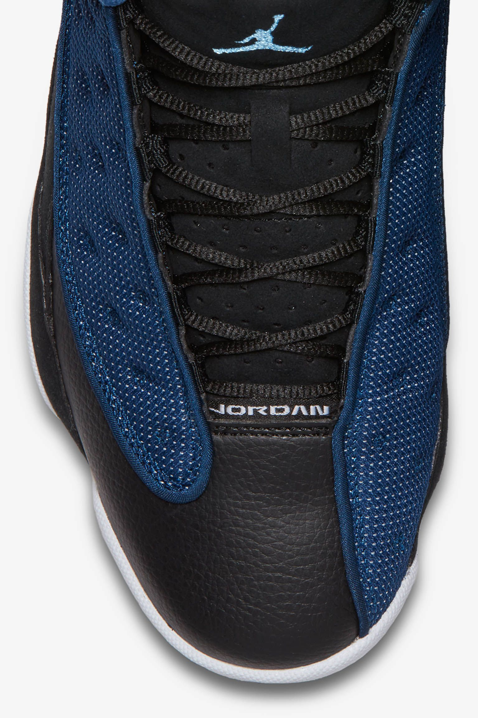 brand new e441c f7090 ... promo code for air jordan 13 retro low black brave blue 08622 ecbba