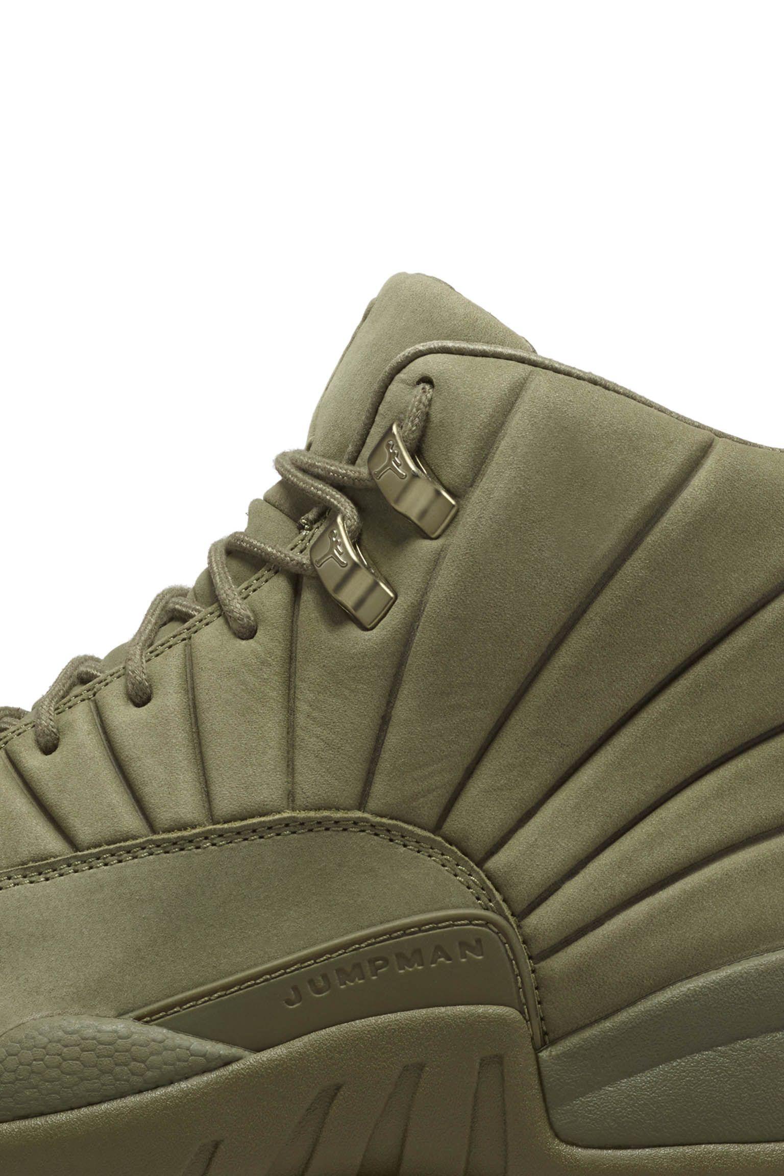 3fe0c2d71a16 Air Jordan 12 Retro PSNY  Medium Olive  Release Date. Nike+ Launch NL