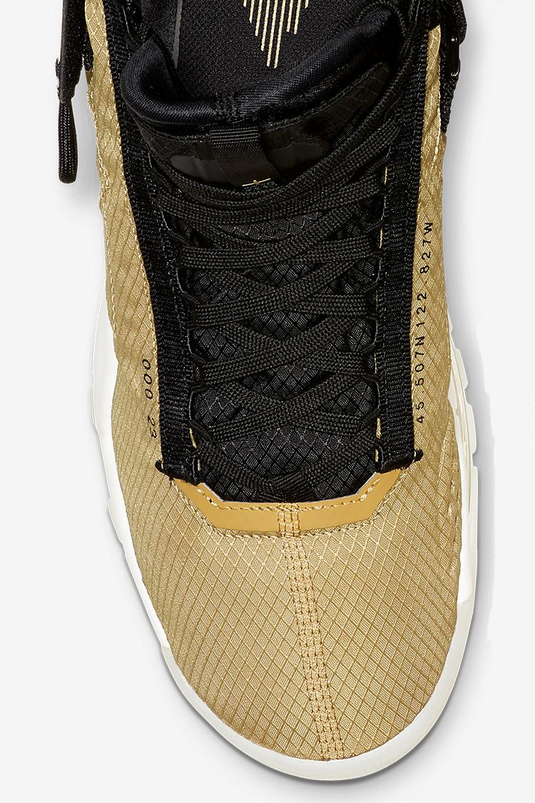 Jordan 720 Gold Black Release Date