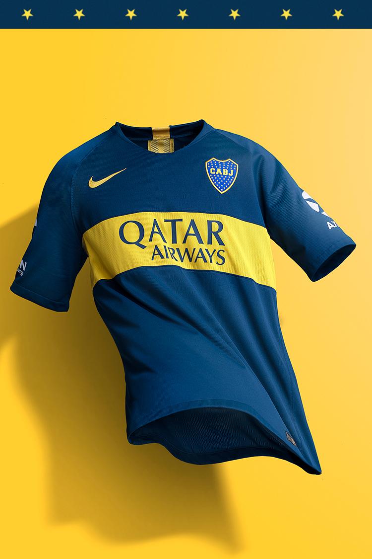 Boca Juniors Home Stadium Jersey