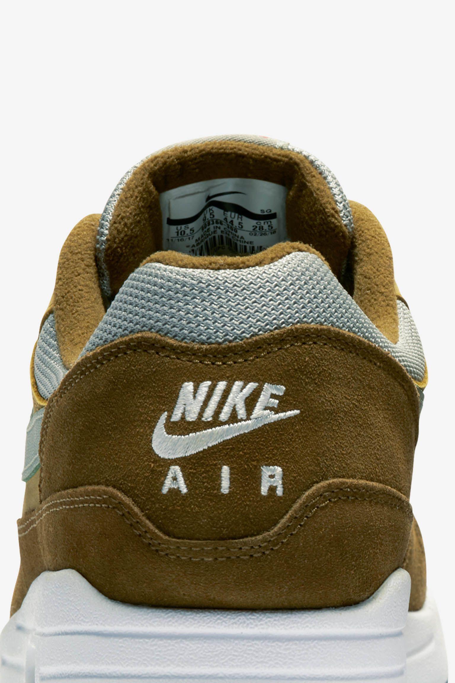 Nike Air Max 1 Premium 'Green Curry' Release Date
