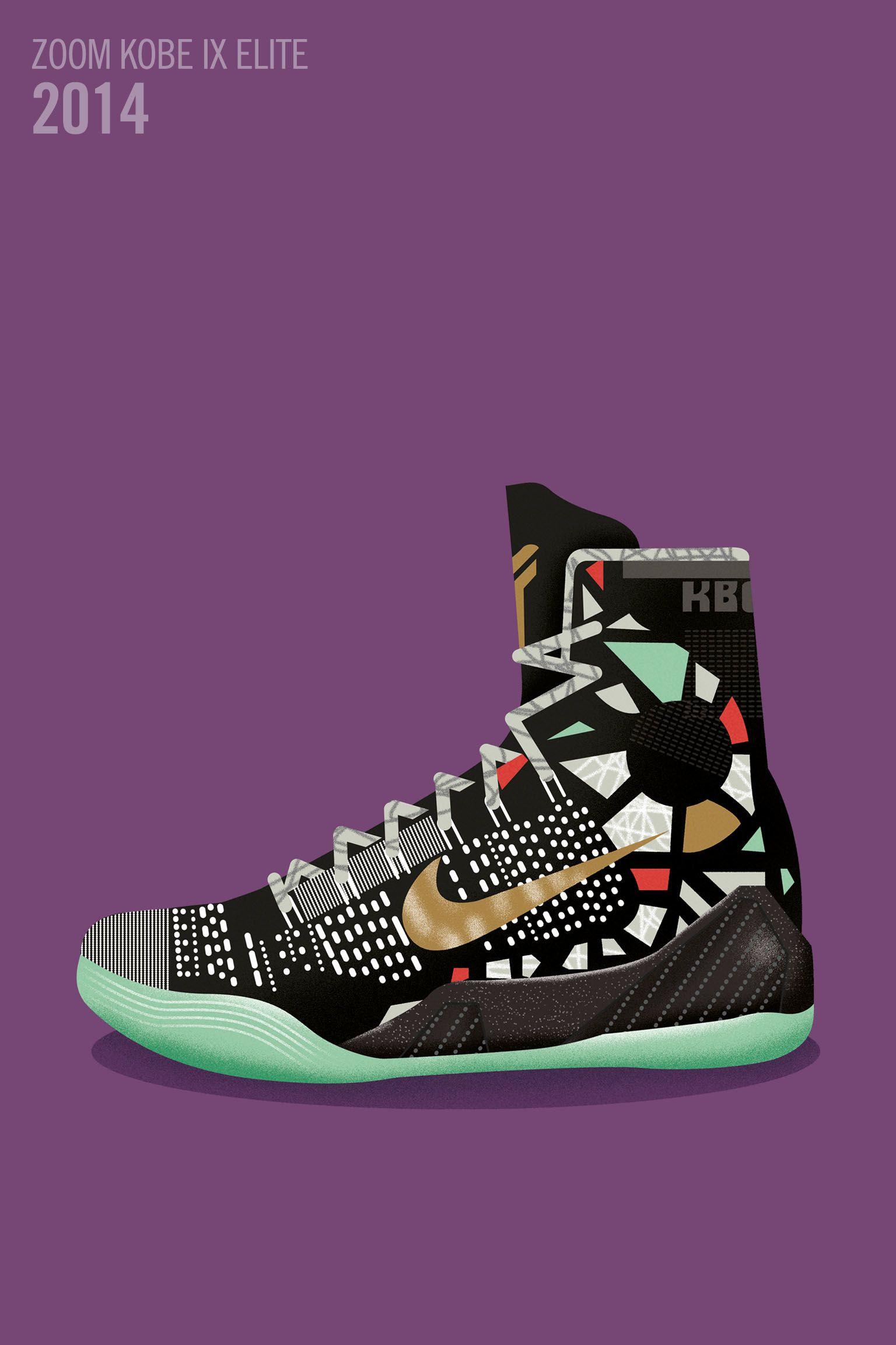 Art et sneakers : le règne du Black Mamba