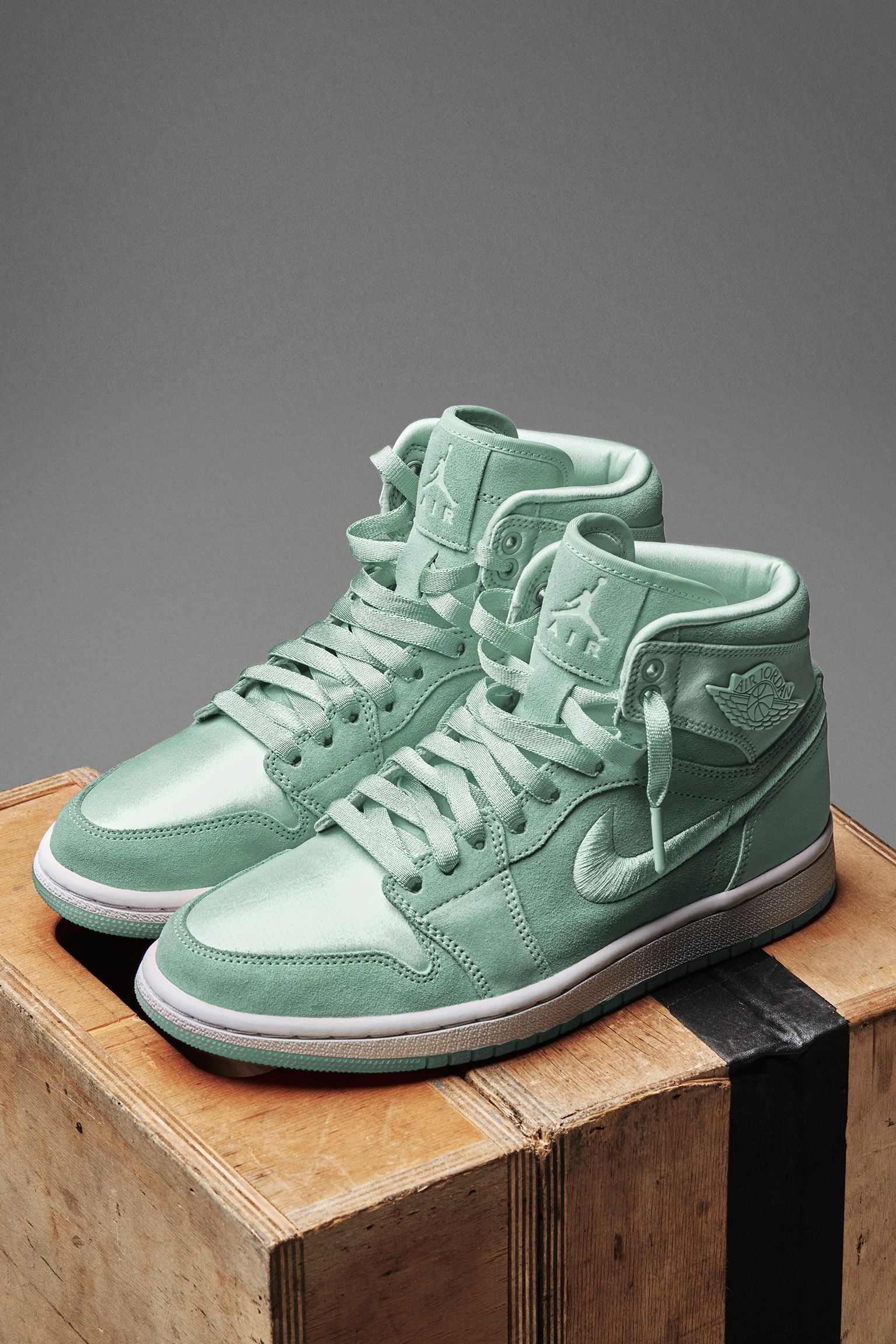 Women s Air Jordan 1 Retro High  Mint Foam  Release Date. Nike⁠+ SNKRS 3610a0ef78