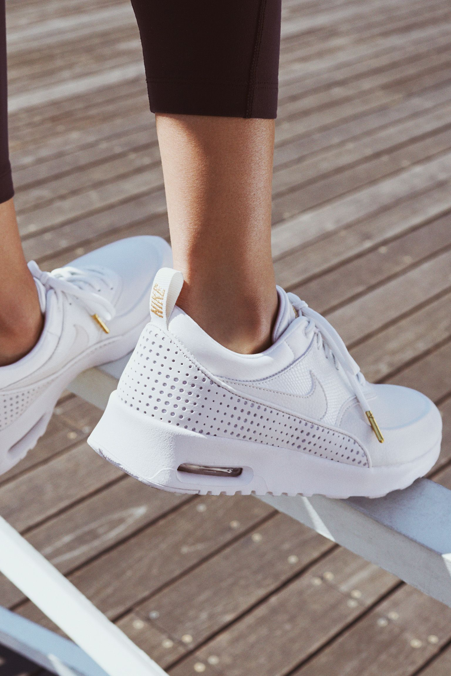 nike air max thea prm gold
