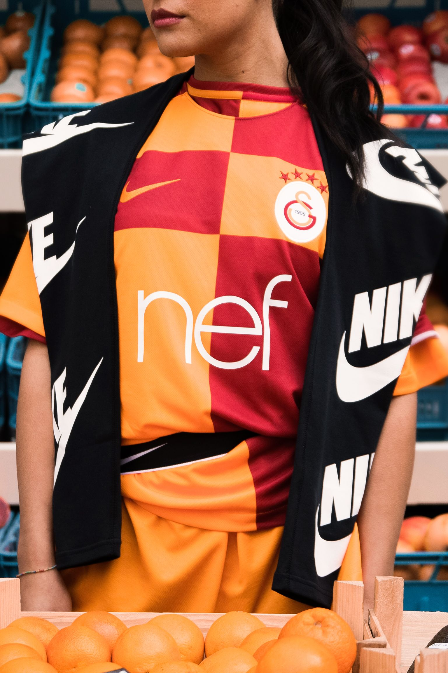 2017/18 GALATASARAY STADIUM HOME KIT
