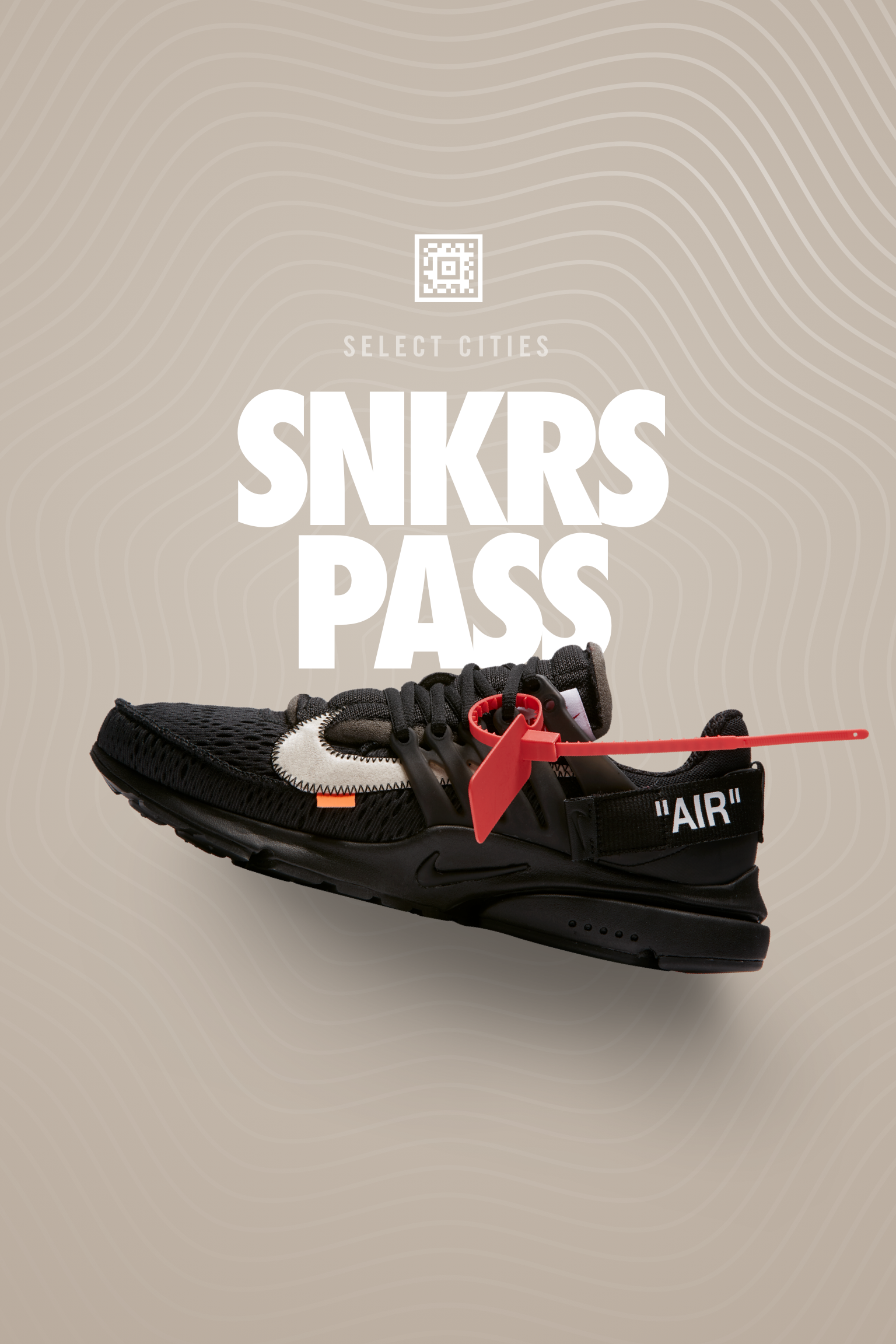 The Ten: Air Presto Off White 'Black' SNKRS Select Cities