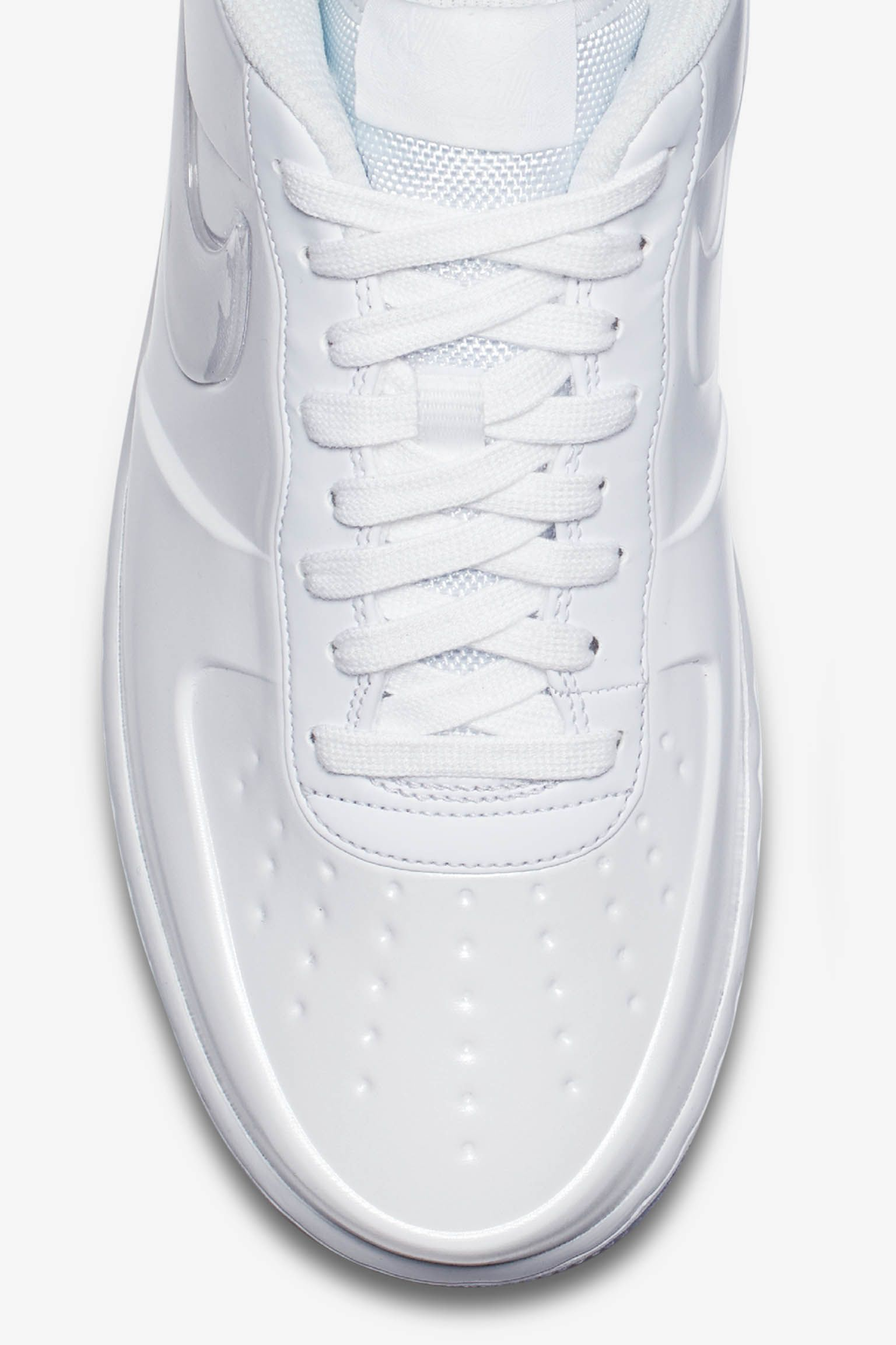Nike Air Force 1 Foamposite Pro Cup 'Triple White' Release Date