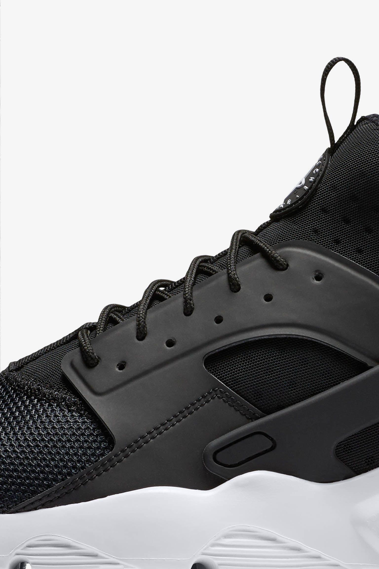 Nike Air Huarache Ultra 'Black & White-Anthracite'