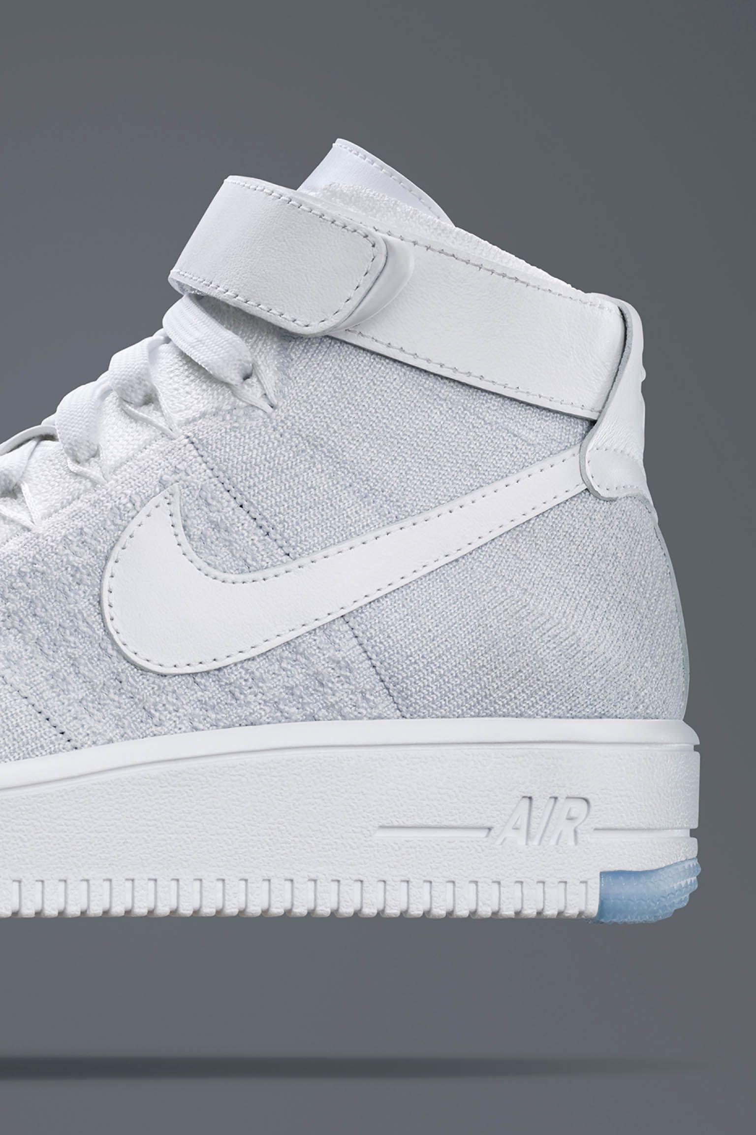Women's Nike Air Force 1 Ultra Flyknit 'White Ice' Release Date