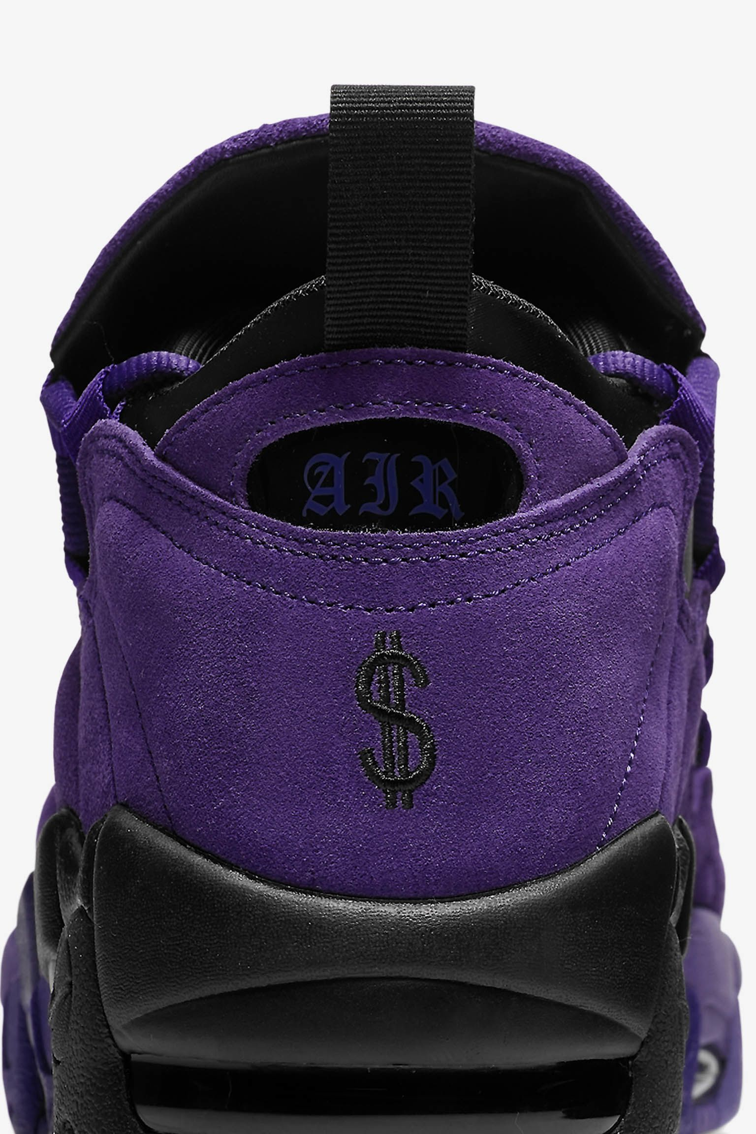 Nike Air More Money 'Court Purple & Black' Release Date