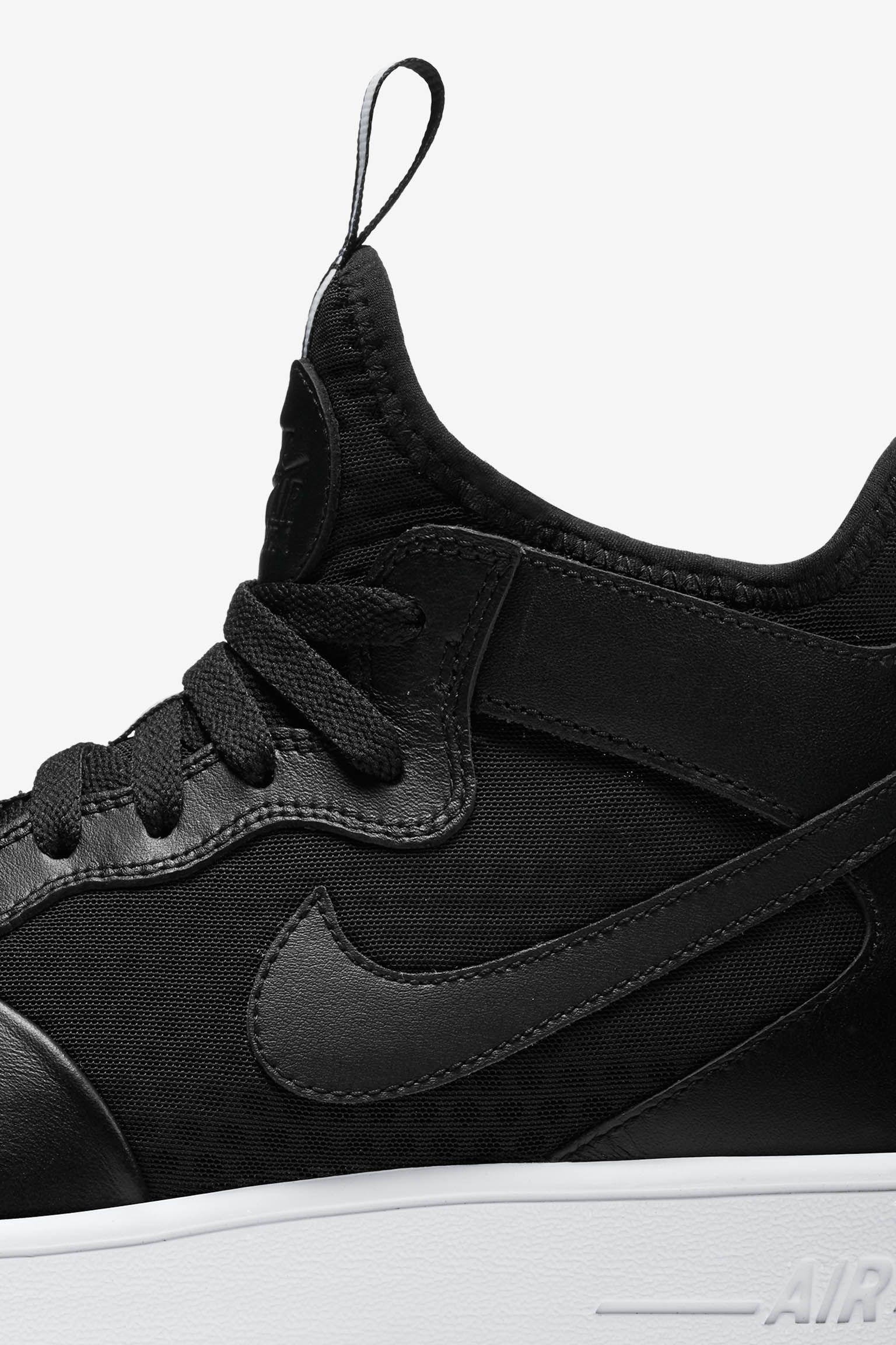 Nike Air Force 1 Ultra Force Mid « Black & White »