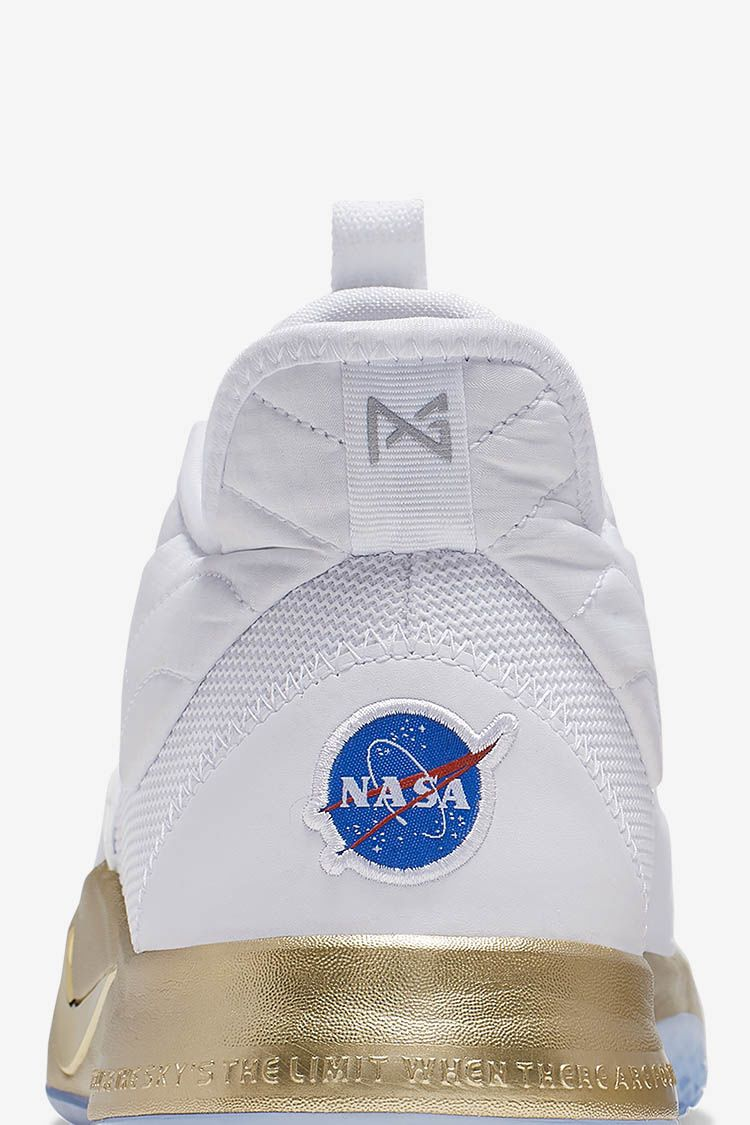 "PG 3 ""NASA White/Gold"" Release Date"