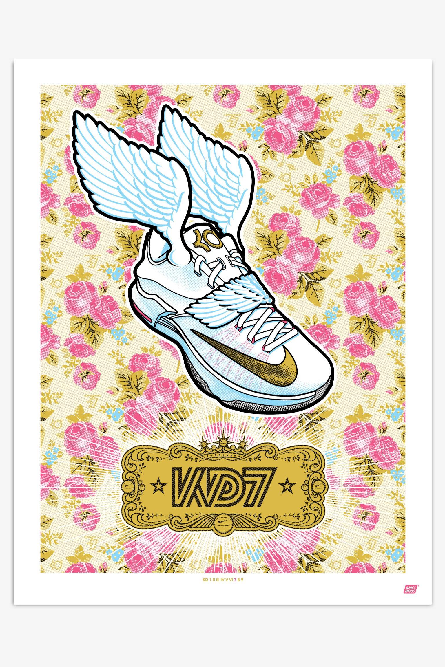 Kunst und Sneaker: Nike KD Signature-Serie