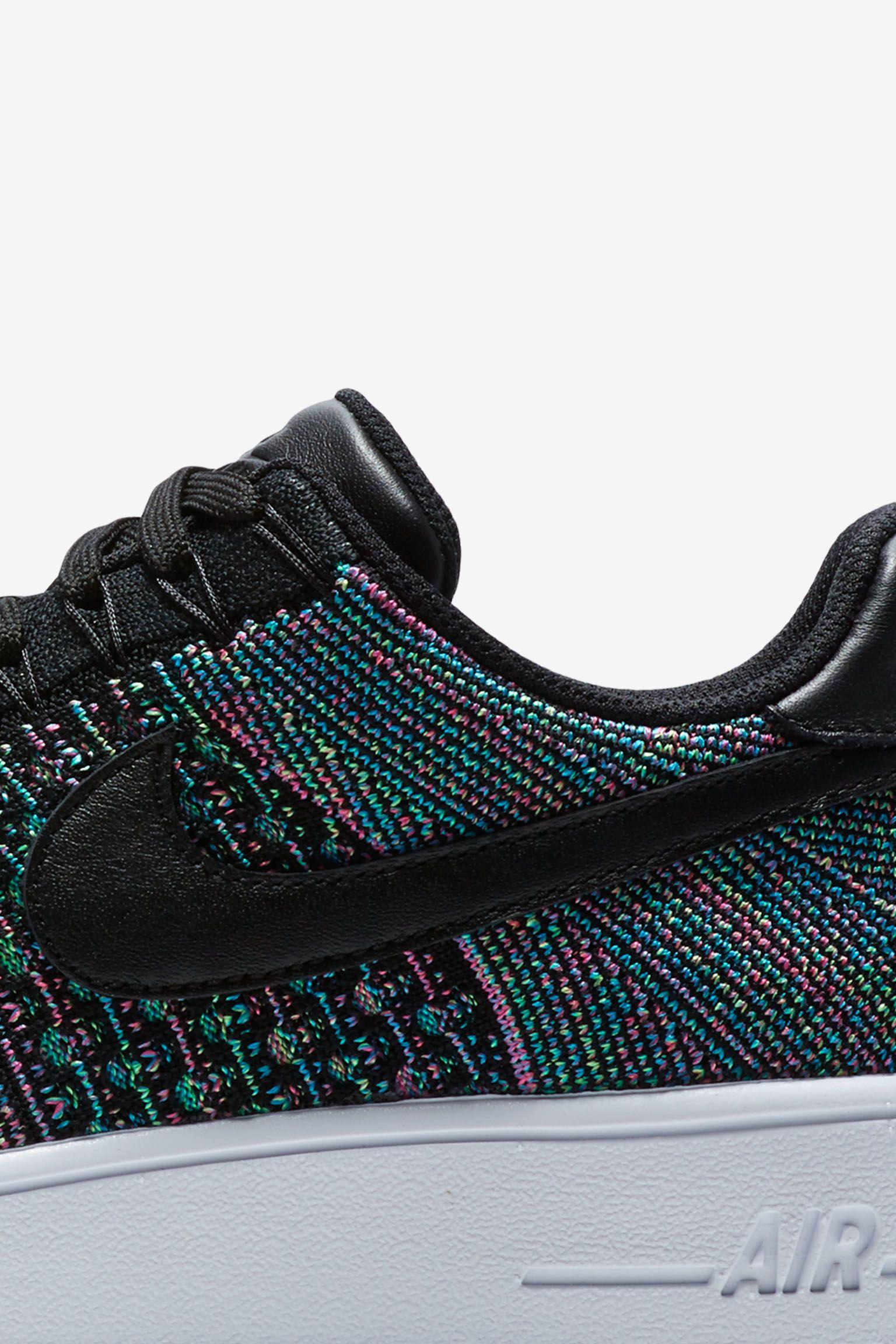 Nike Air Force 1 Ultra Flyknit Low 'Multicolor' Release Date