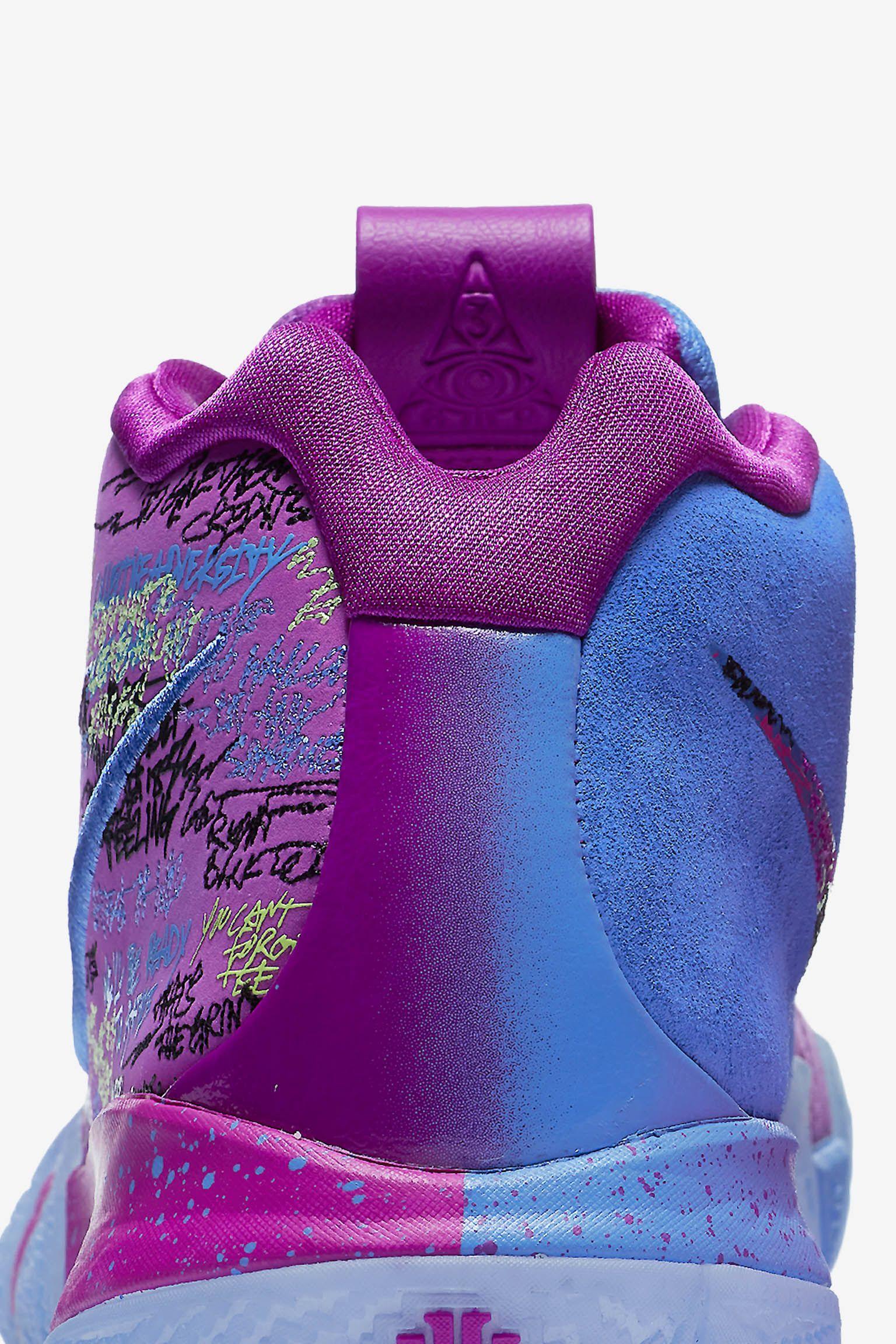 Nike Kyrie 4 'Confetti' Release Date