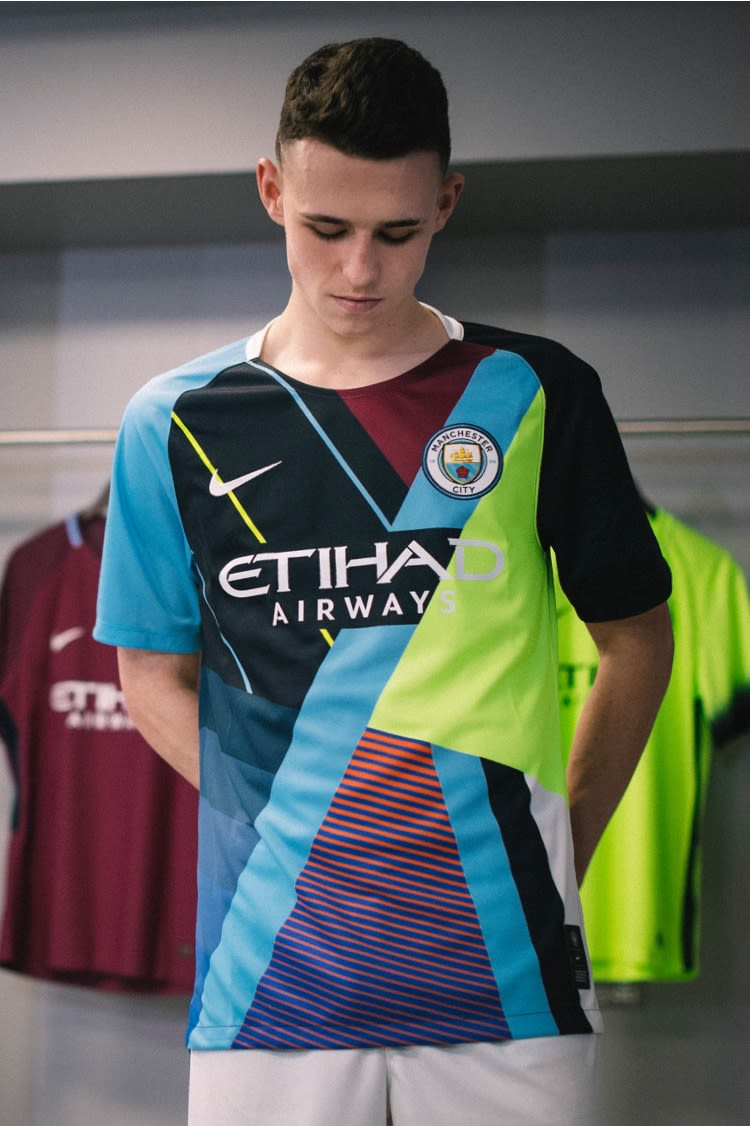Manchester City, Mashup Jersey, Phil Foden