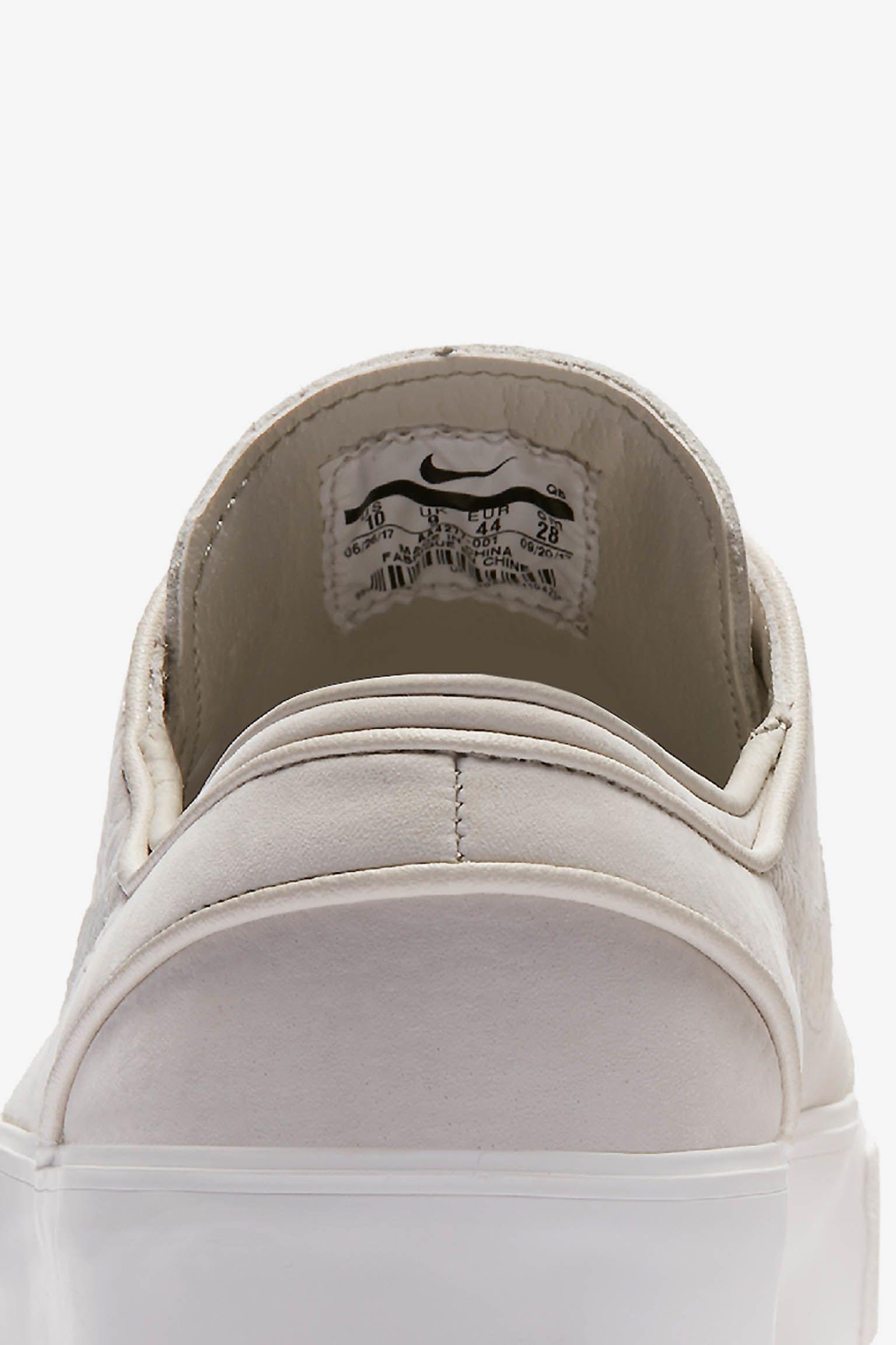 Nike SB Janoski Decon 'Light Bone & Summit White' 发布日期