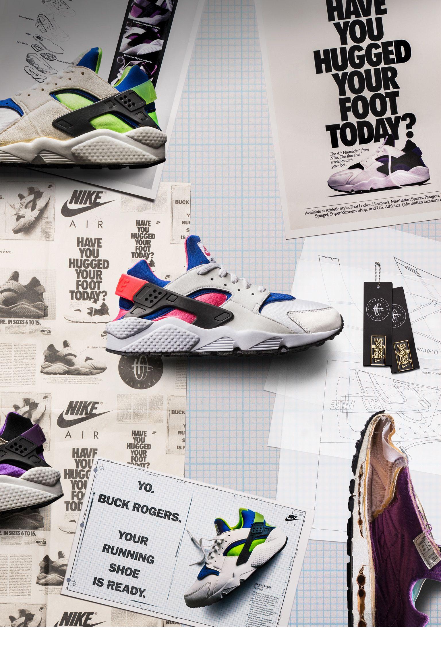official photos dbf8a 6ea93 Behind The Design: Air Huarache. Nike+ SNKRS