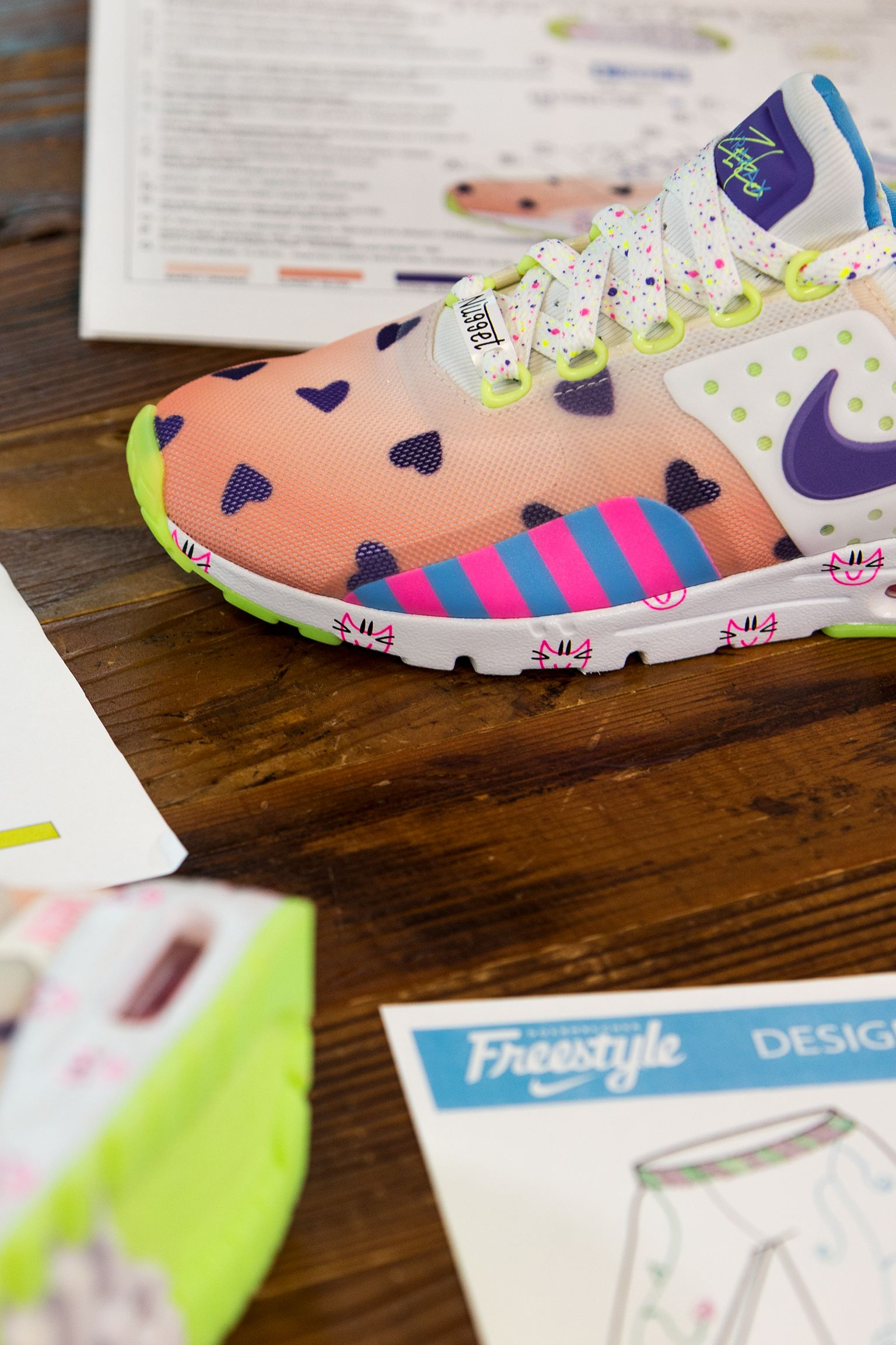 Behind the Design: Women's Nike Air Max Zero Doernbecher