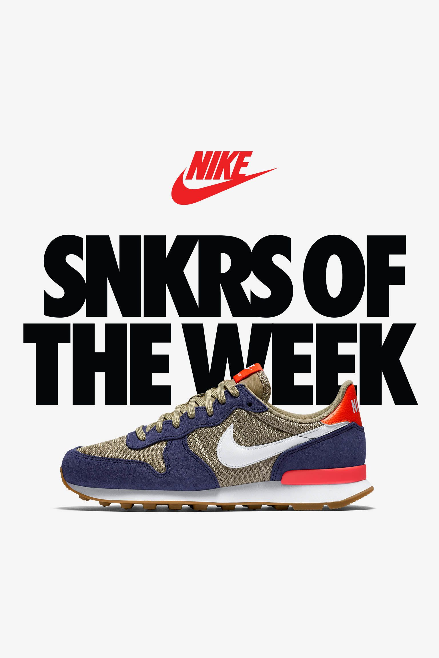 Women's Nike Internationalist 'Loyal Blue & White Bamboo'