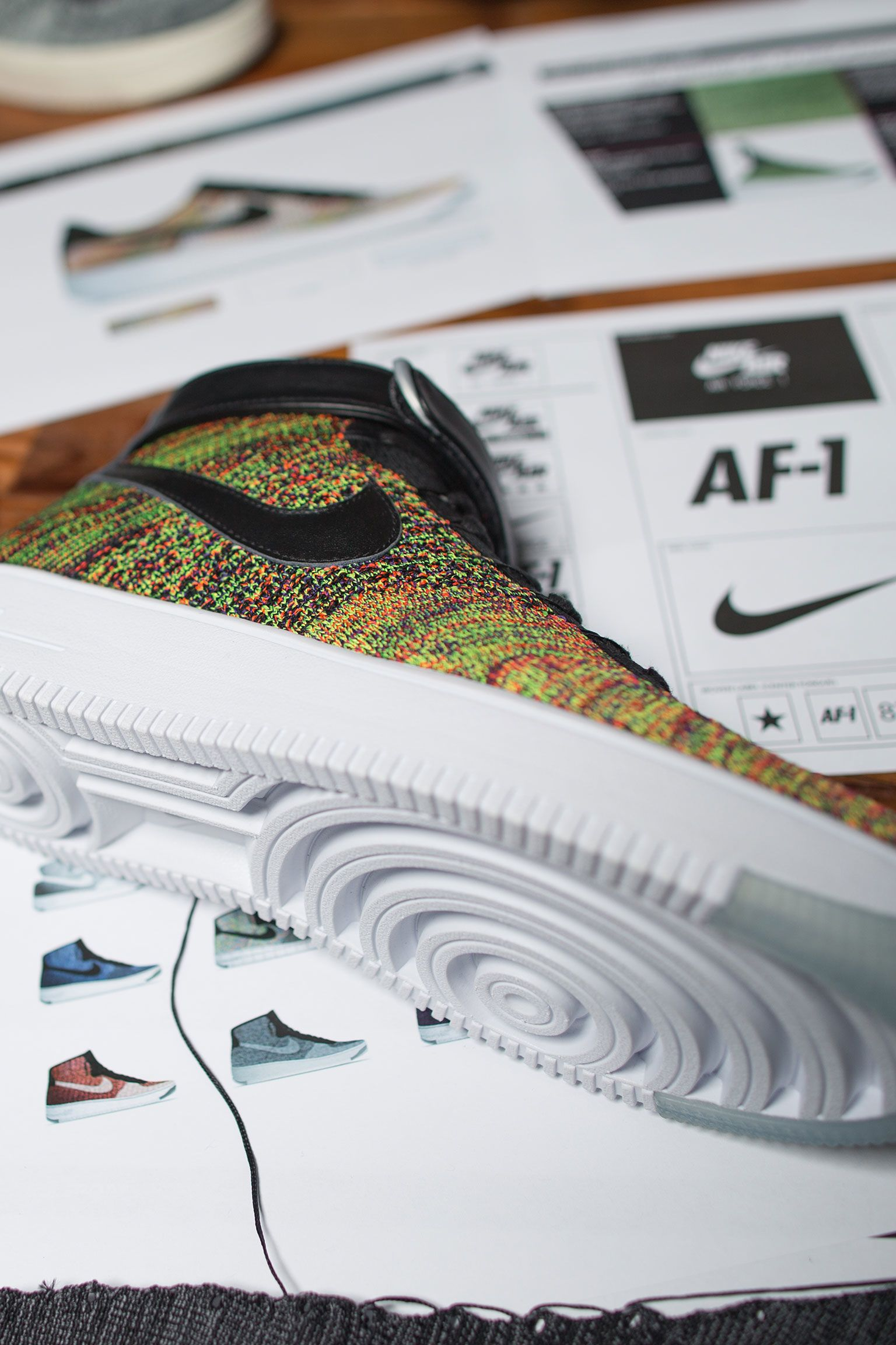 À l'origine du concept : Nike Air Force 1 Ultra Flyknit