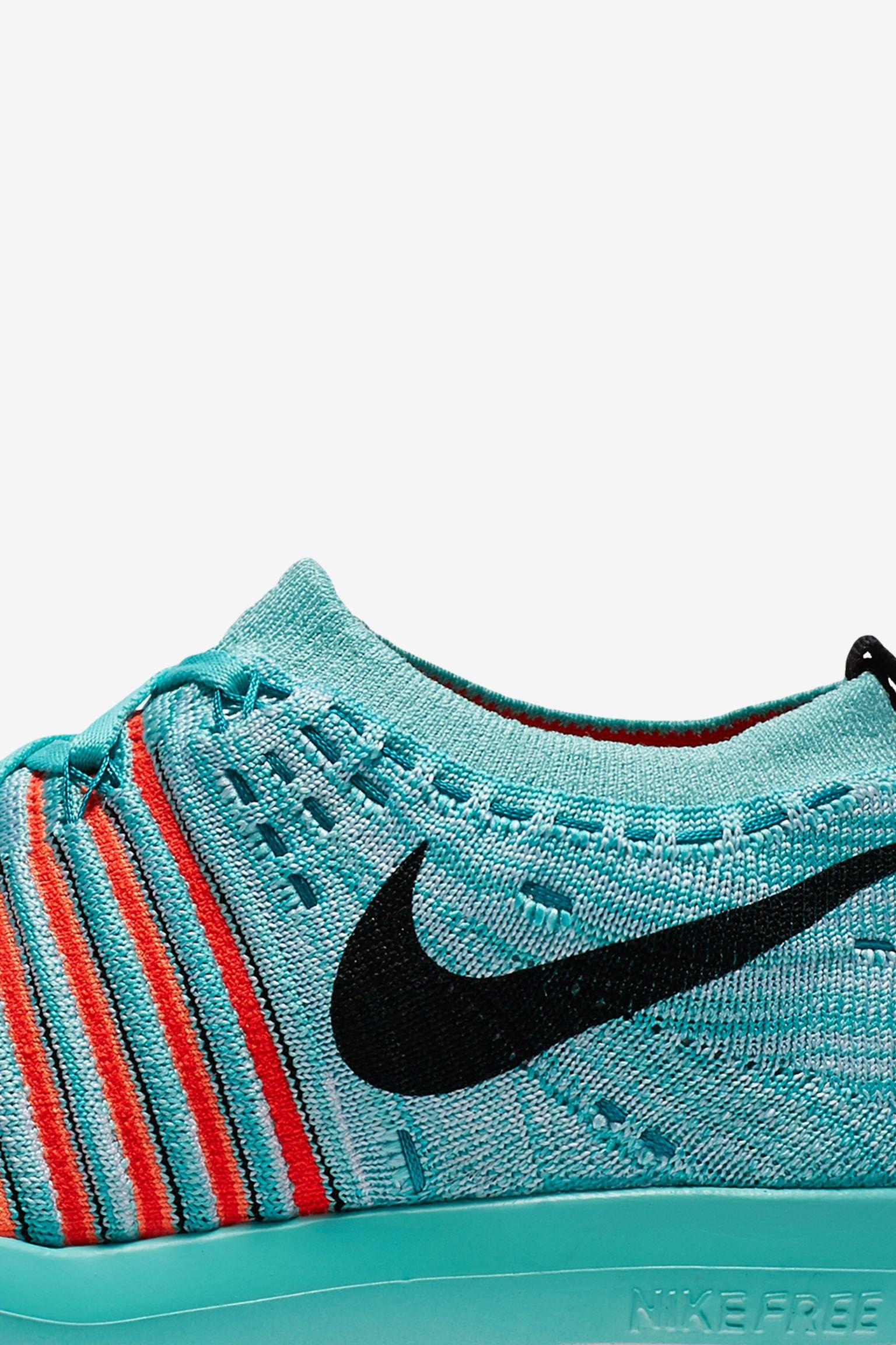 Women's Nike Free Transform Flyknit 'Hyper Turquoise'