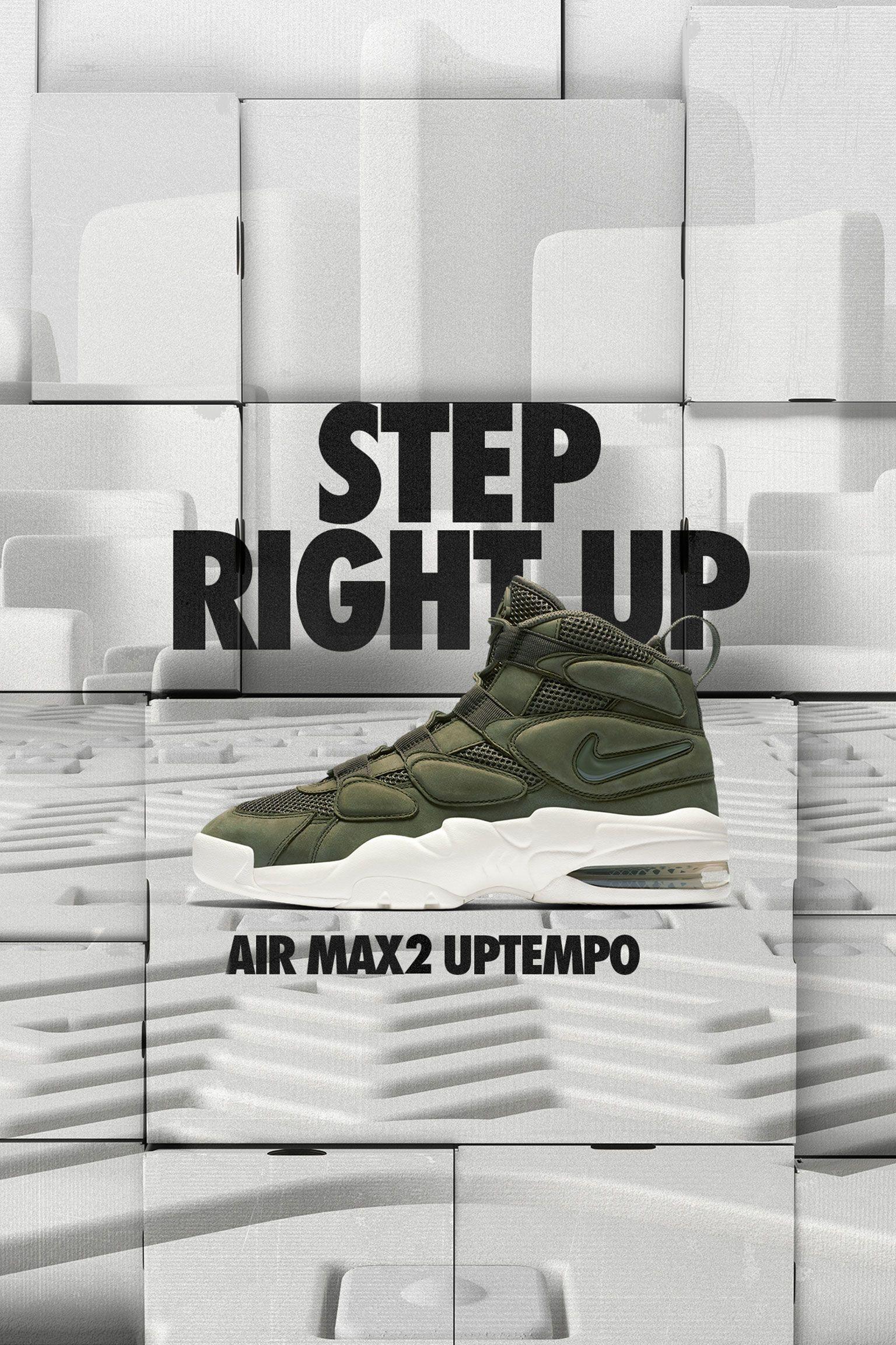 Nike Air Max2 Uptempo 'Urban Haze & Sail'