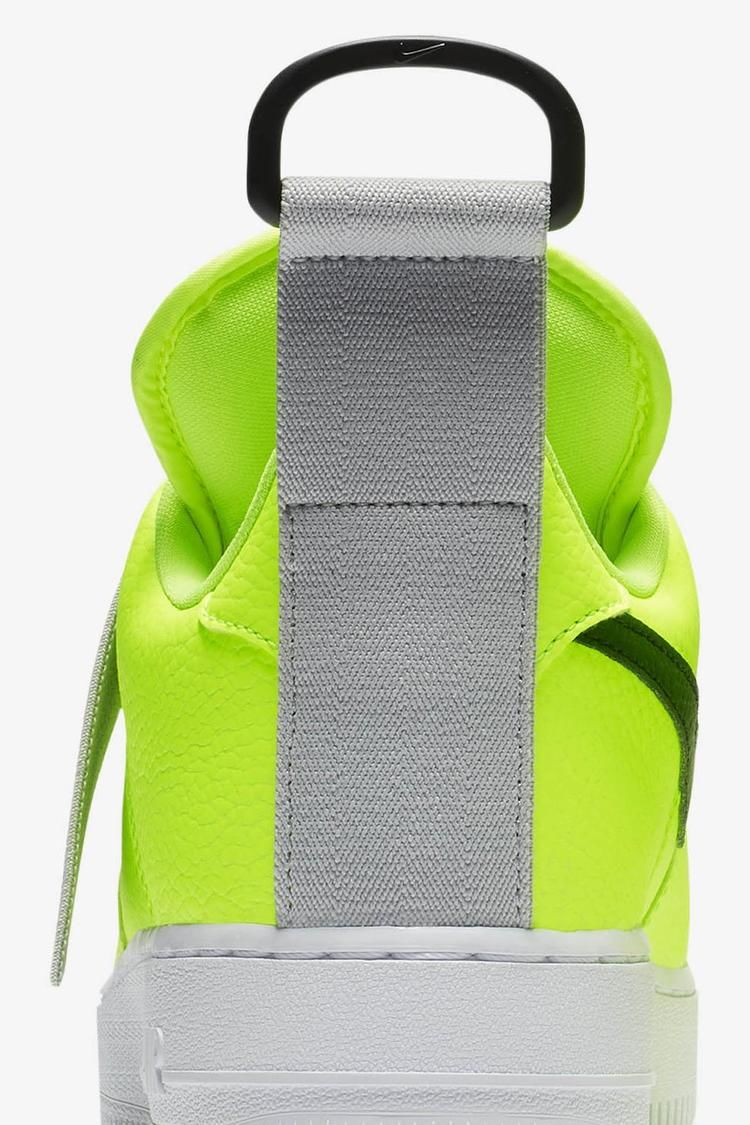 Air Force 1 Utility 'Volt & Black & White' Release Date