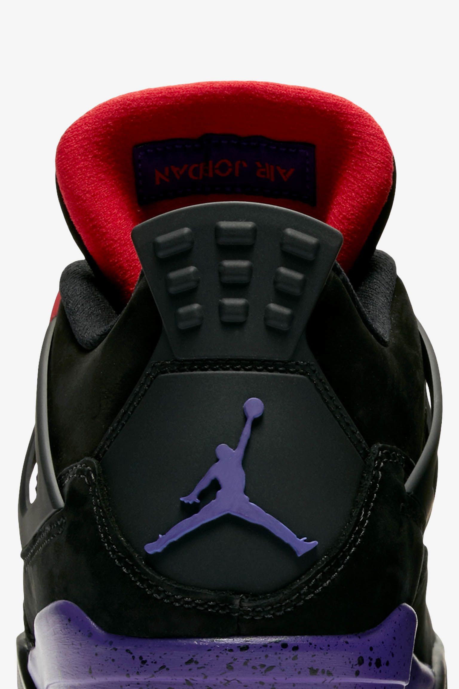 Air Jordan 4 'Black & Court Purple' Release Date