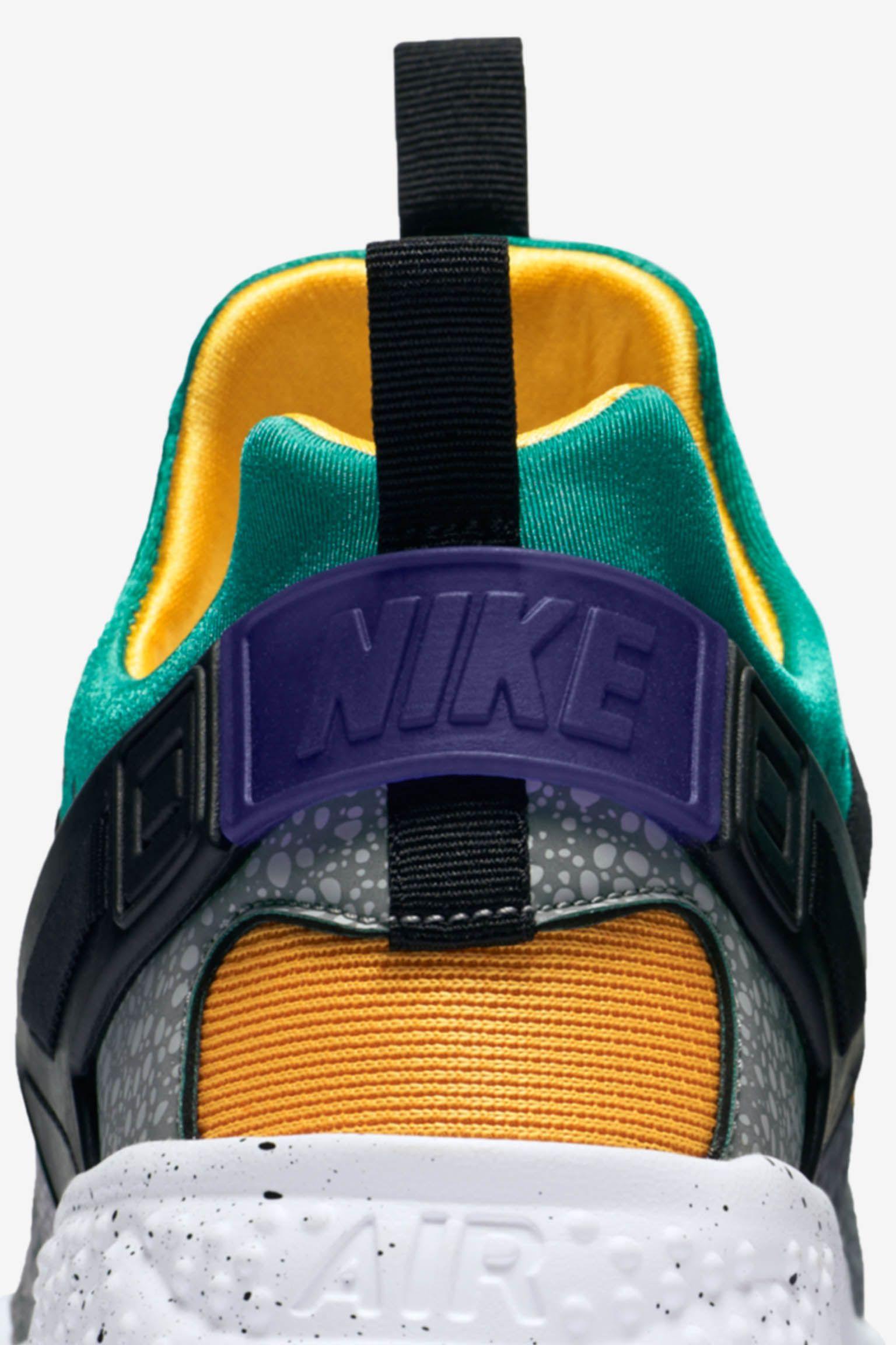 Nike Air Huarache Utility 'Safari & Emerald Green'