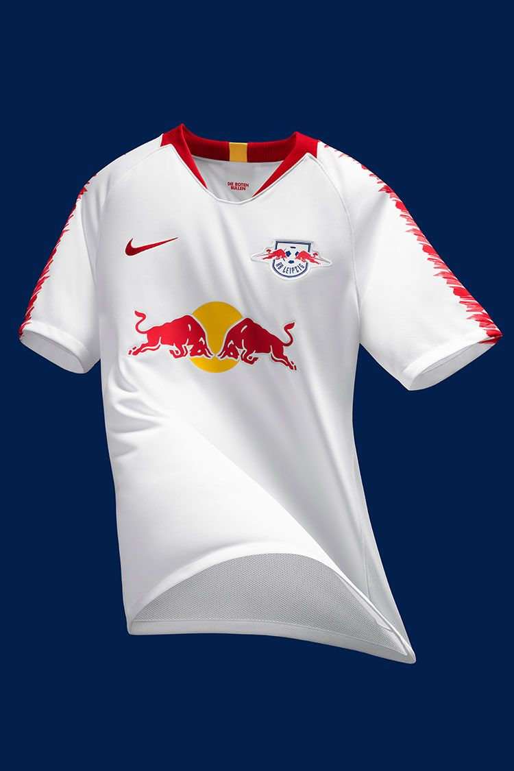 RB Leipzig 2018/19 Stadium Home Jersey