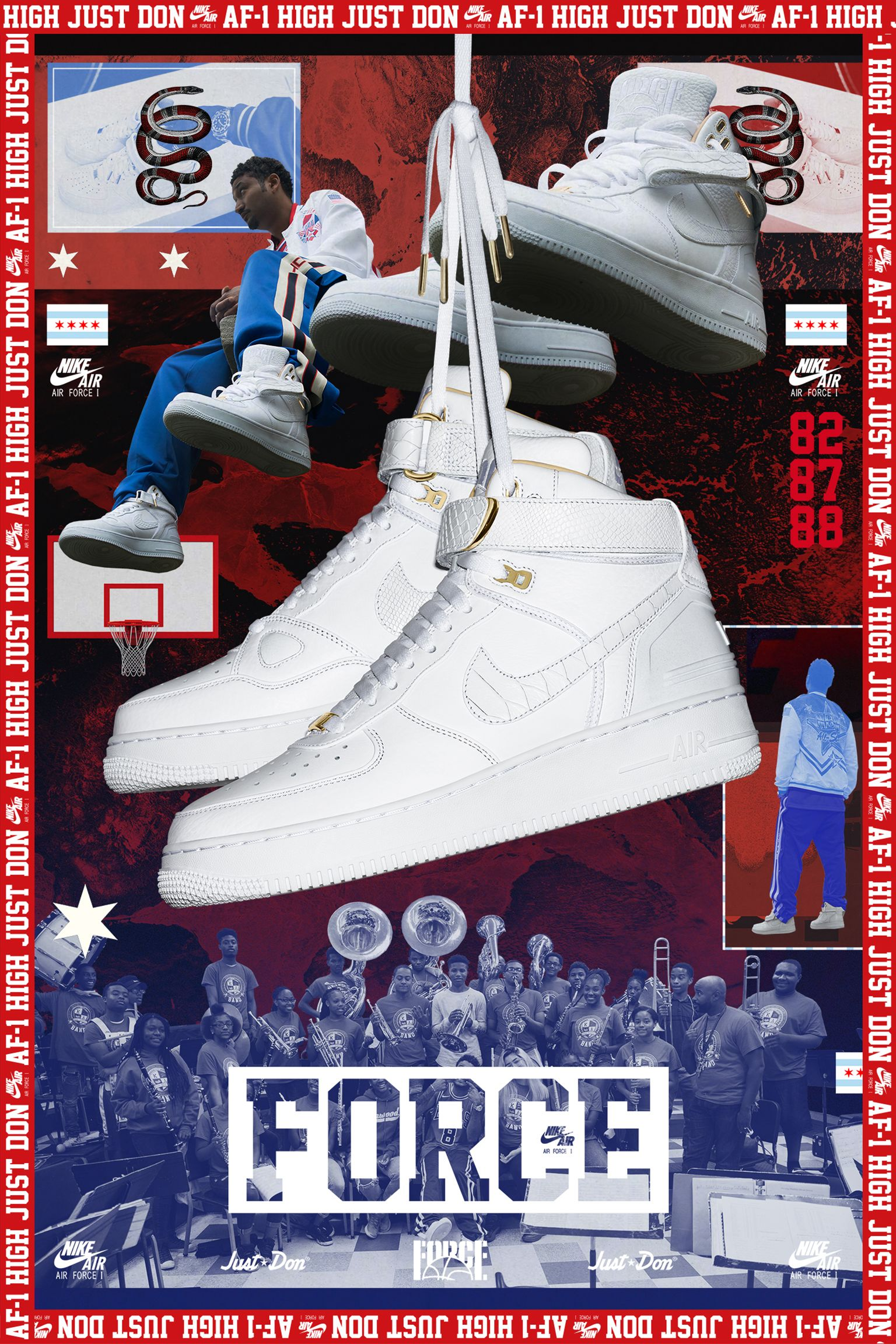 Nike Air Force 1 'Just Don' Release Date