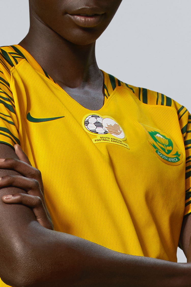South Africa Women's Football Federation 2019 Stadium Home Jersey