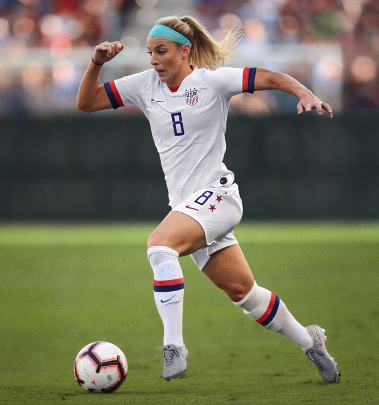 In Julie Ertz's Own Words