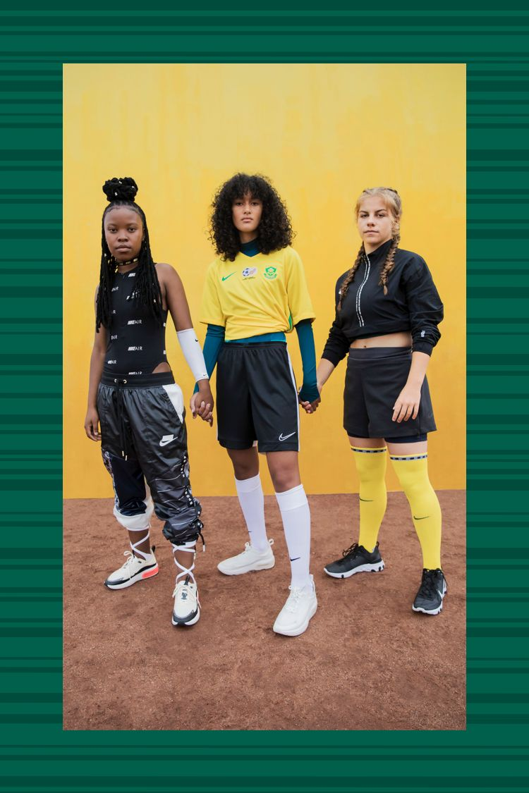 The 2019 South Africa Women's National Team Away Jersey