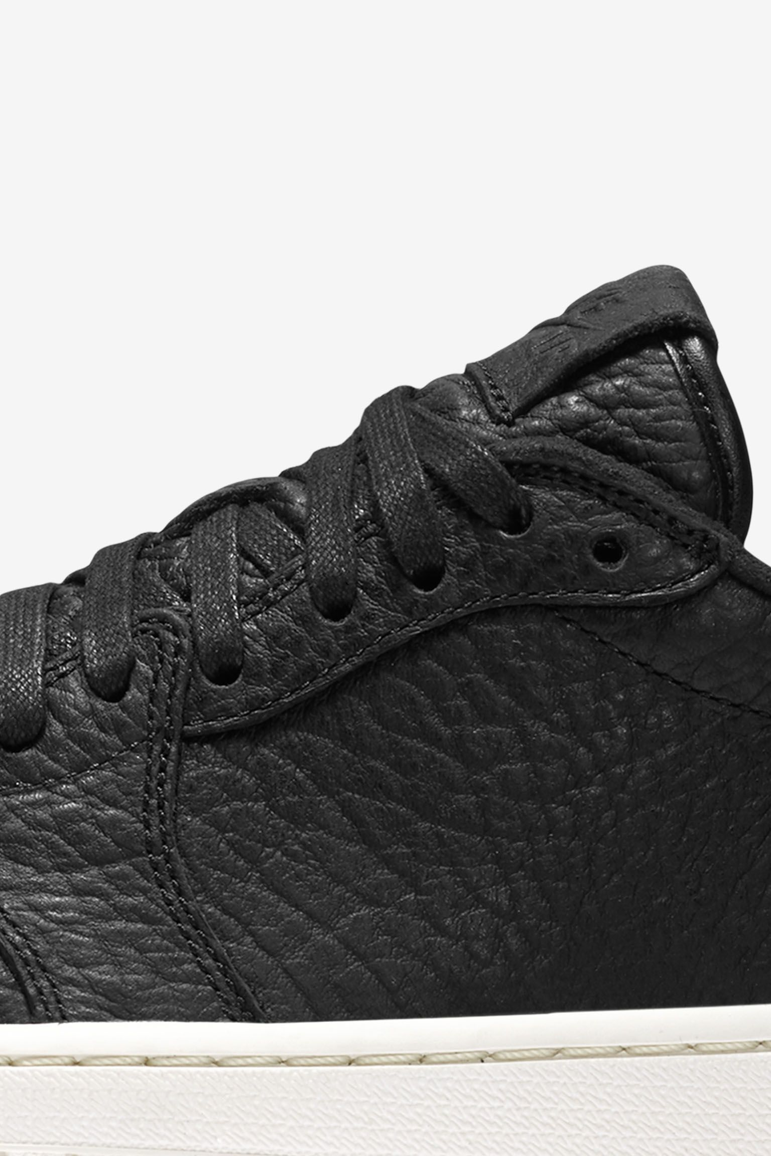 Air Jordan 1 Retro Low 'Swooshless All Year Appeal' Black Release Date