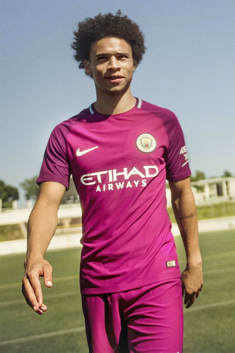 Man City 2017/18 Home Kit
