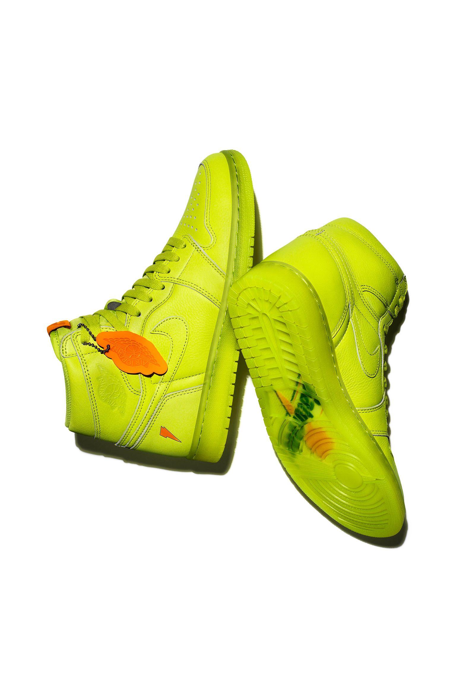 Air Jordan 1 High Gatorade  Lemon-Lime  Release Date. Nike+ SNKRS 632da8013