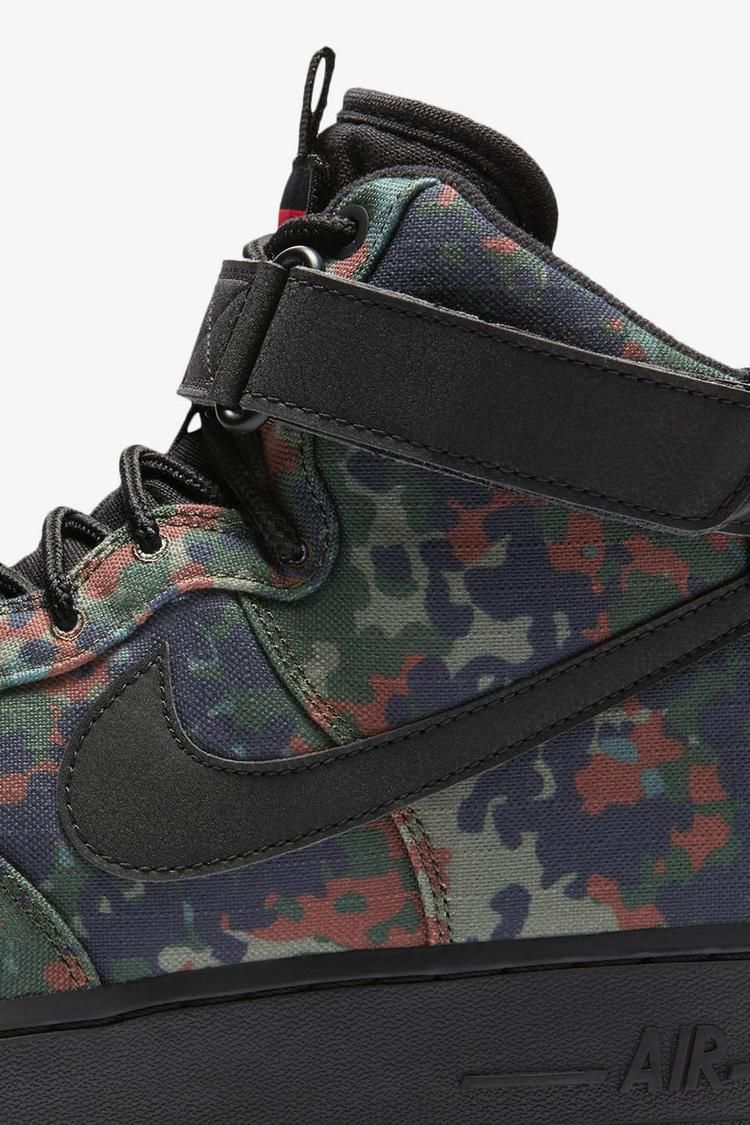 Nike Air Force 1 High 'Alligator & Black Safari' Release Date