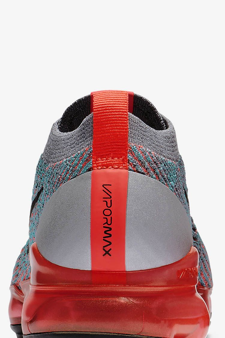Nike Women's Air VaporMax Flyknit 3 'Lava & Grey' Release Date