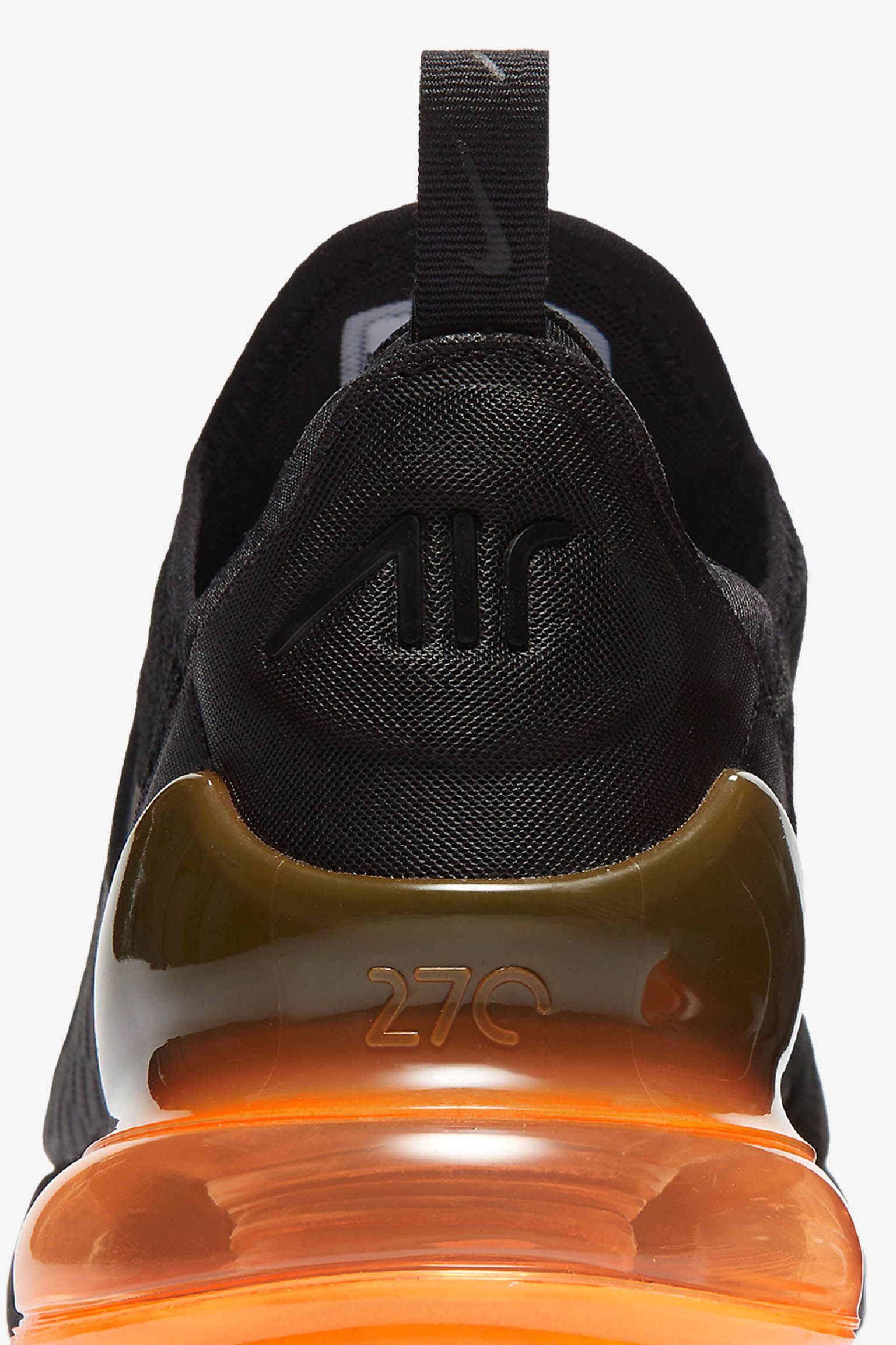 Nike Air Max 270 'Black & Tonal Orange' Release Date